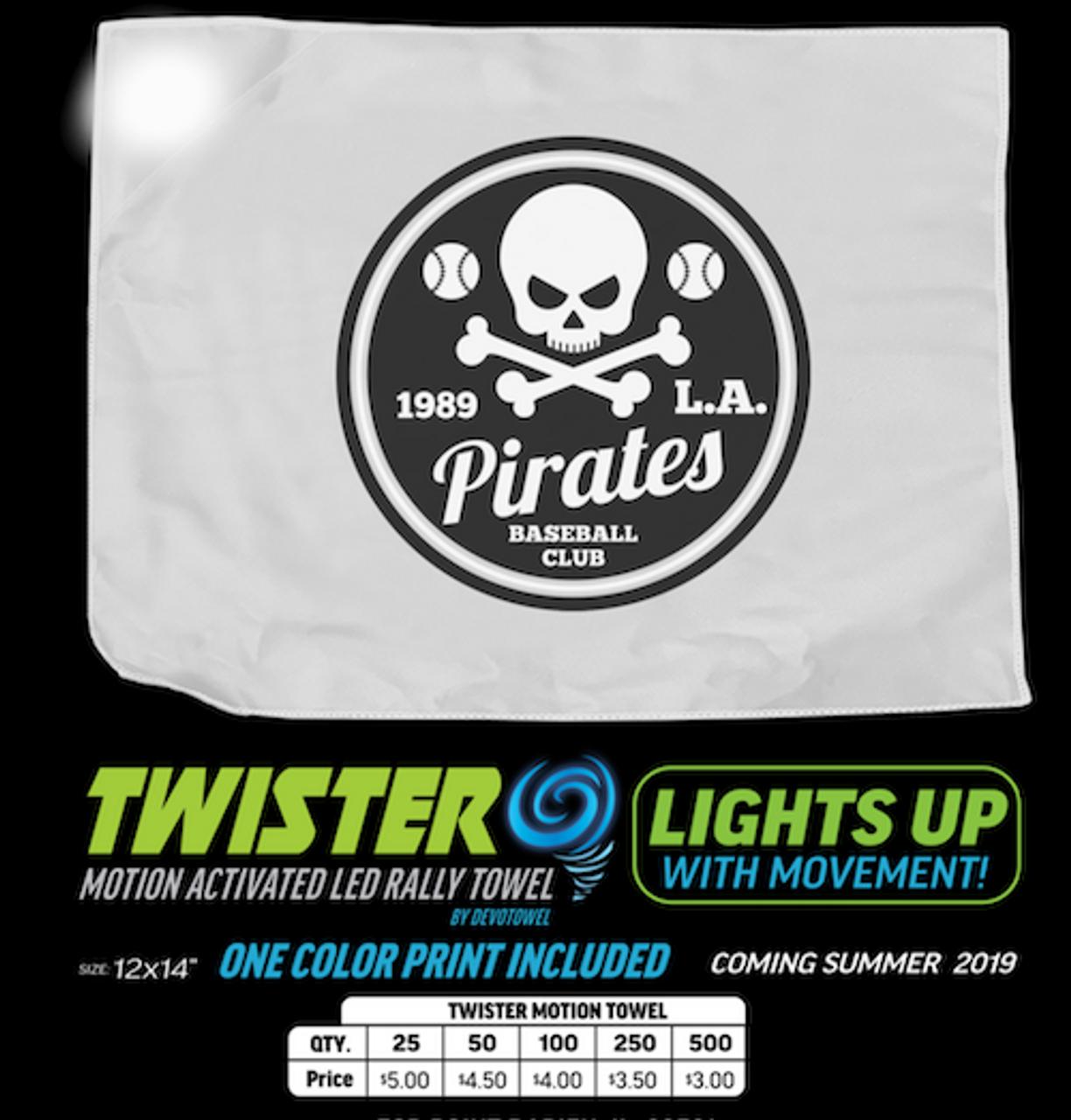 Sport, Cheer, event, promo, LED, light up, illuminated, rag, spirit, towel