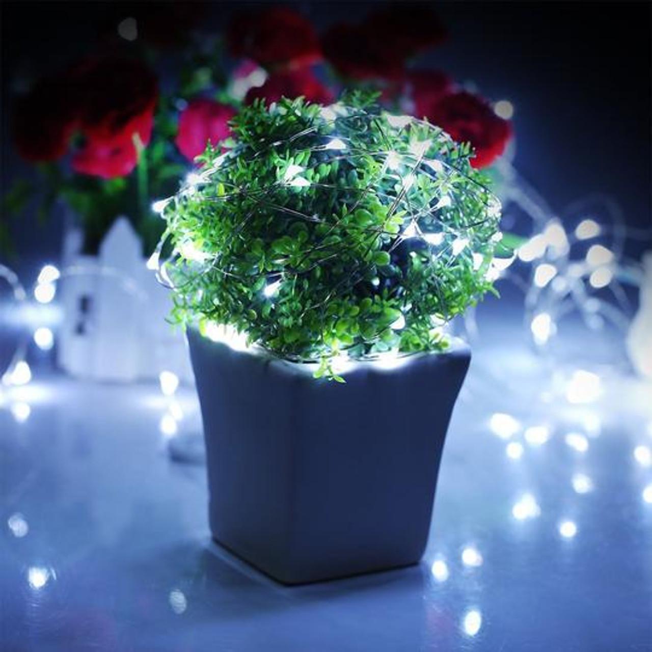 LED, RGB, RF, Remote Control, Fairy light, wireless, low voltage, waterproof, decorations, decor, home, wedding, planters, garden