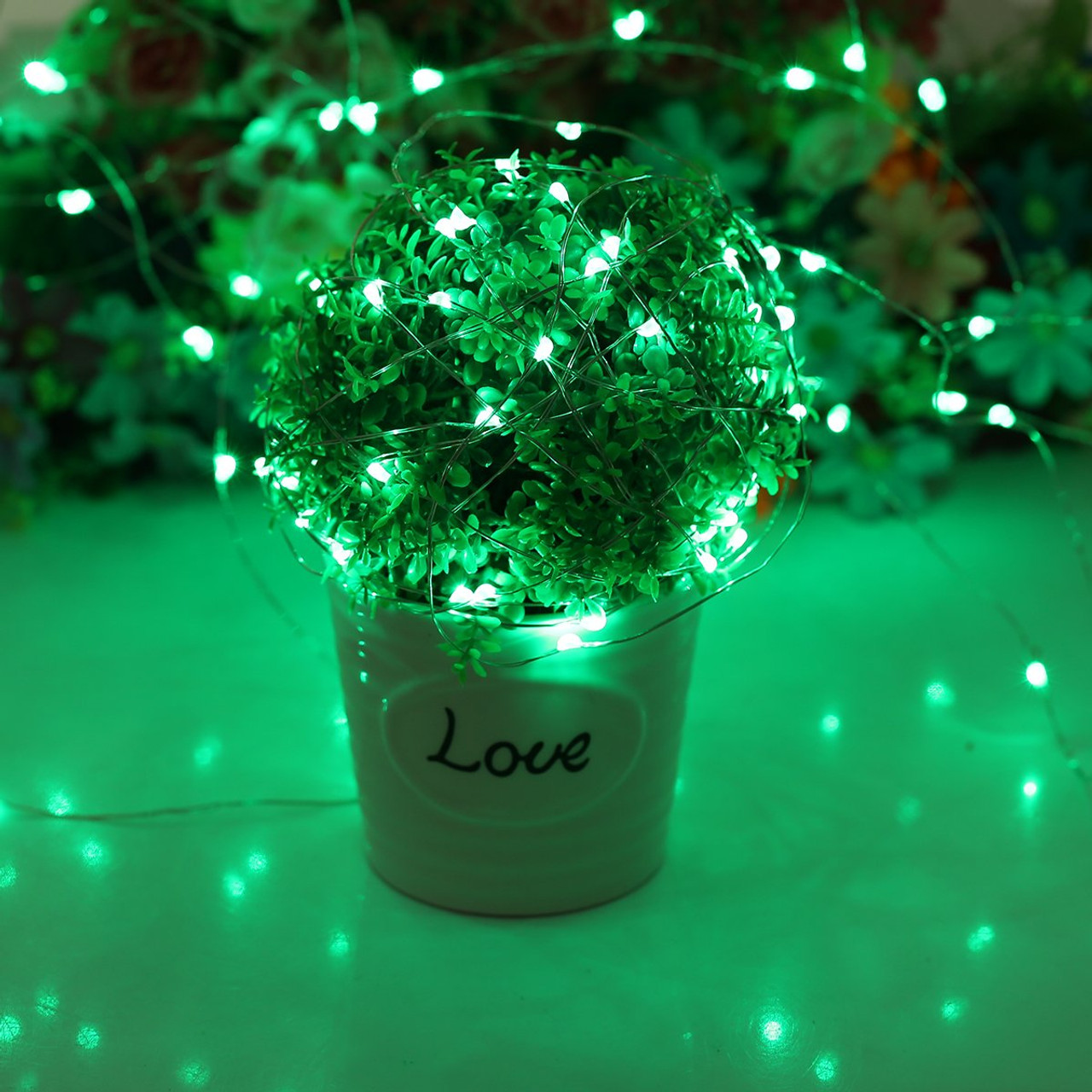 RGB, LED, Wireless, remote control, planter, wedding, party, decoration, fairy lights, twinkle lights