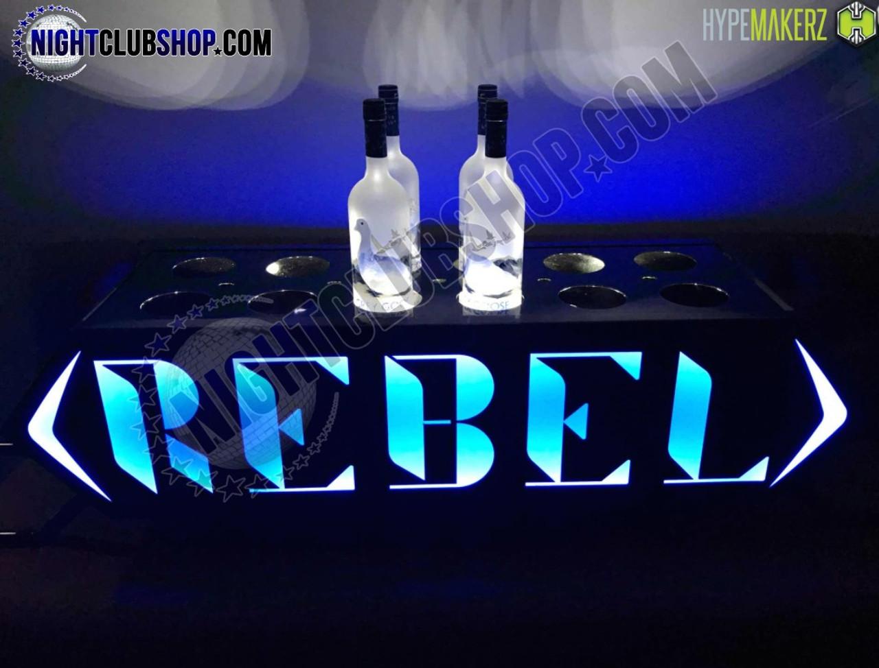 LED, Champagne, Bottle, Chariot, Presenter, Liquor Holder, Bottle Serivce