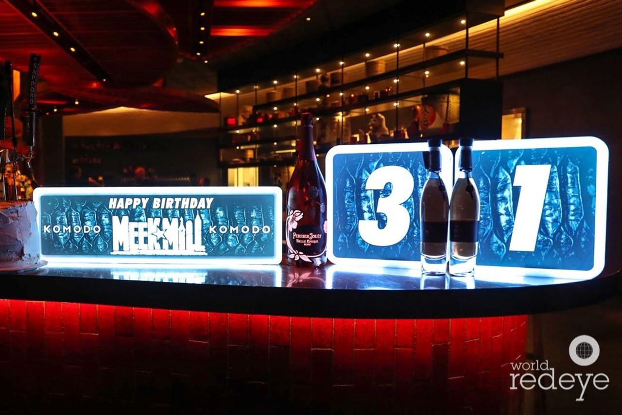 LED, Celebration, Board, Bottle, Service, VIP, Presenter, Custom, Branding