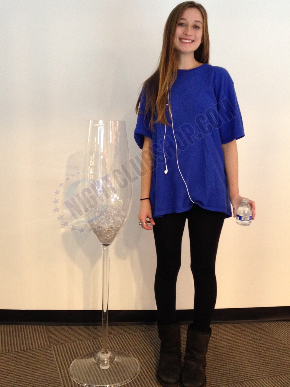 XL, Jumbo, Large, Champagne, Flute, Bottle, Acrylic, Cup, Actual-size, Huge, Enormous, Gigantic, glassware, Celebration
