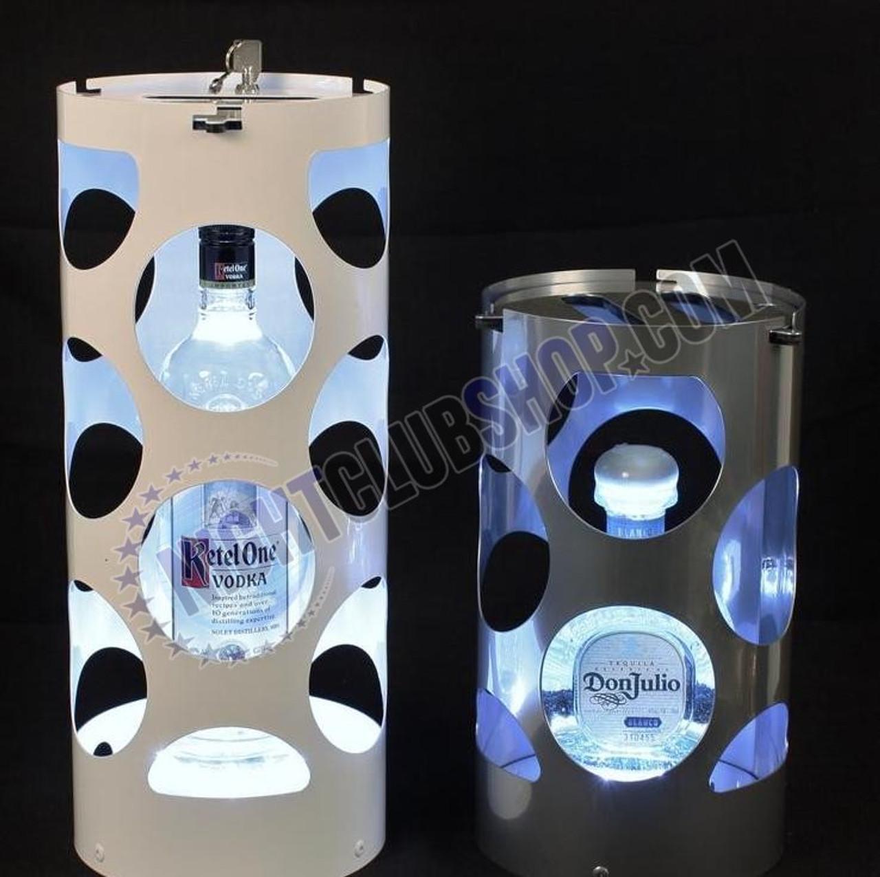 Steel, Metal, Patrons, North Carolina, Virginia, Cages, LED, Huge, Medium, Small, Custom, Club, Spirits, Bar, Casino, Lock, Box, Key, Locking