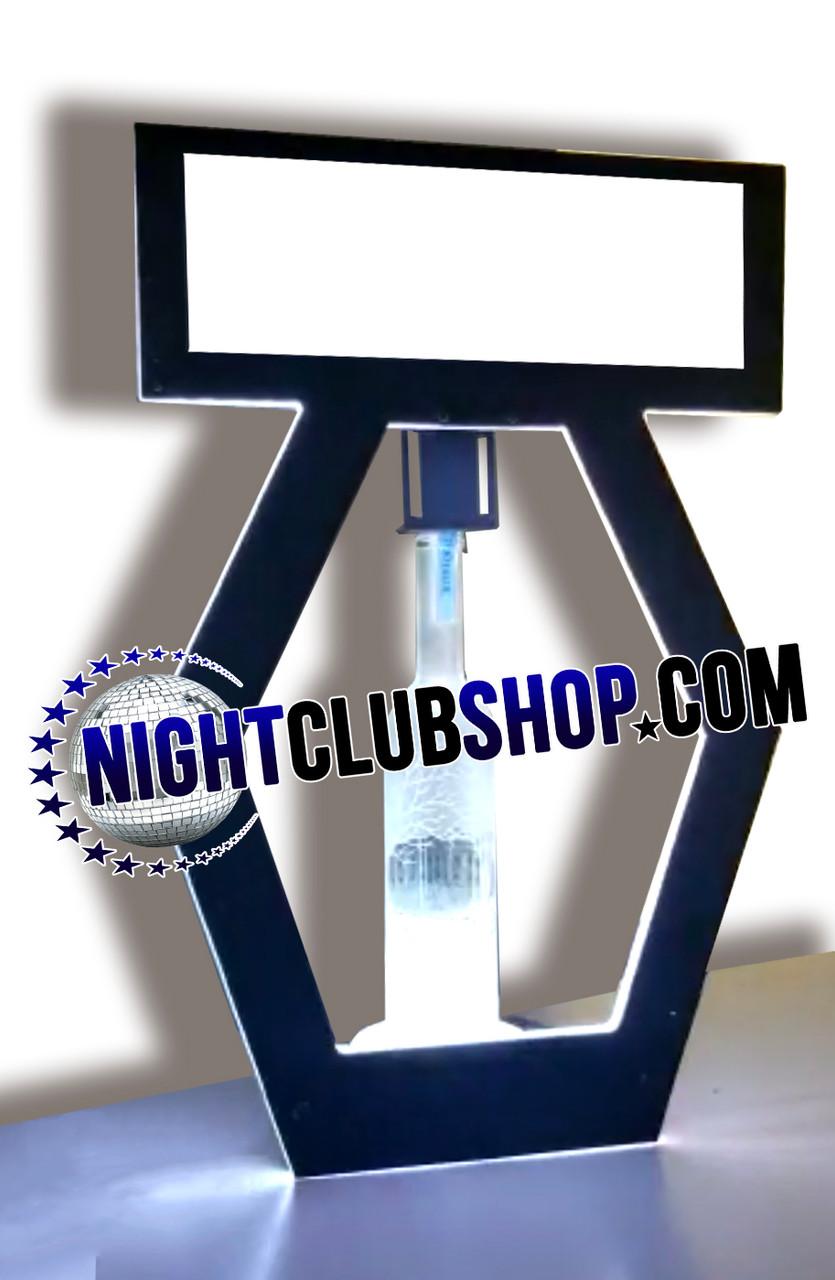 NEW, VIP, Custom, Banner, Top, LED, DMXR, Remote Control, Wireless, RGB, Bottle, Presenter, Nightclubshop, Glow