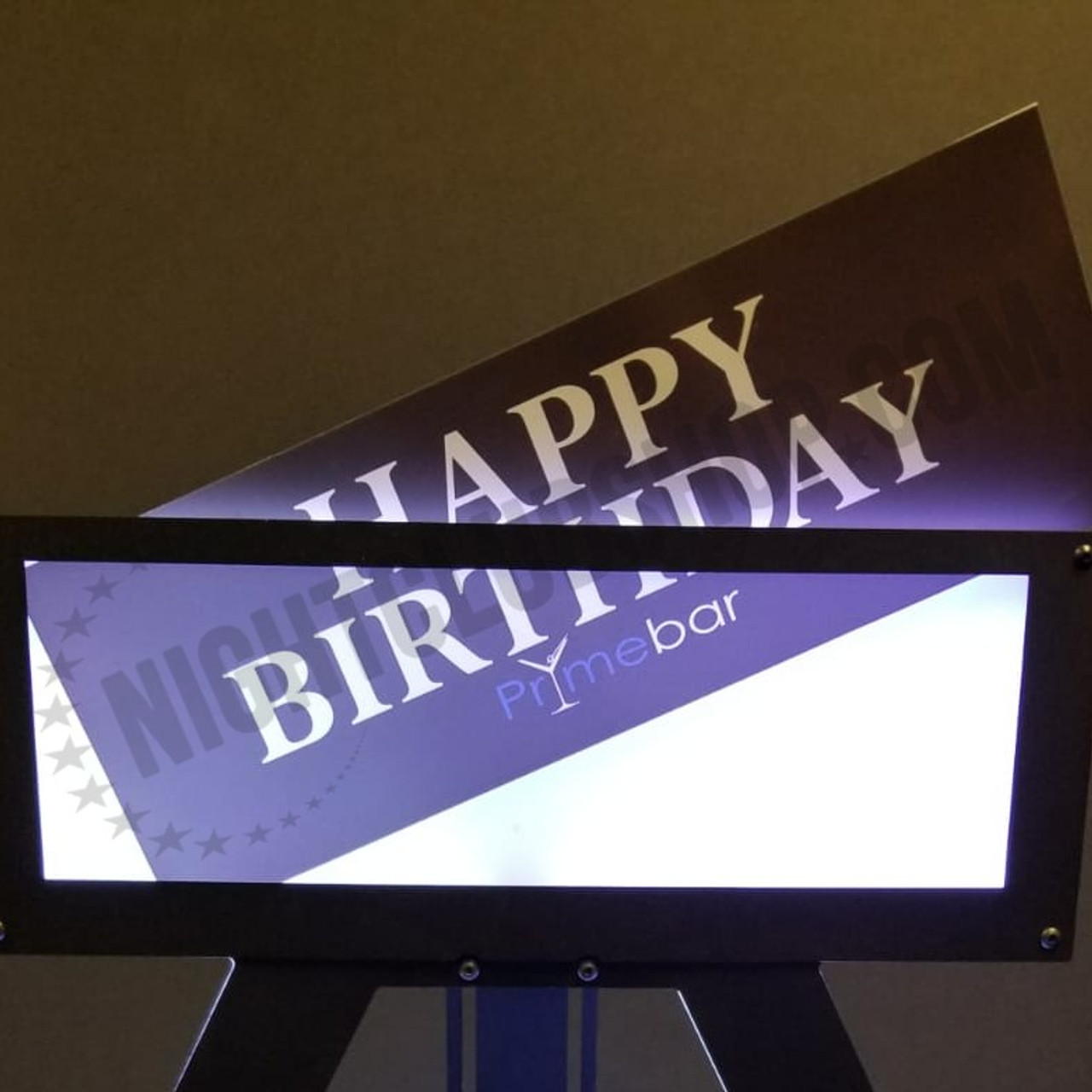 Custom, VIP, Banner, Print, Interchangeable, Happy, Birthday, Switch, Fast, Simple, Easy