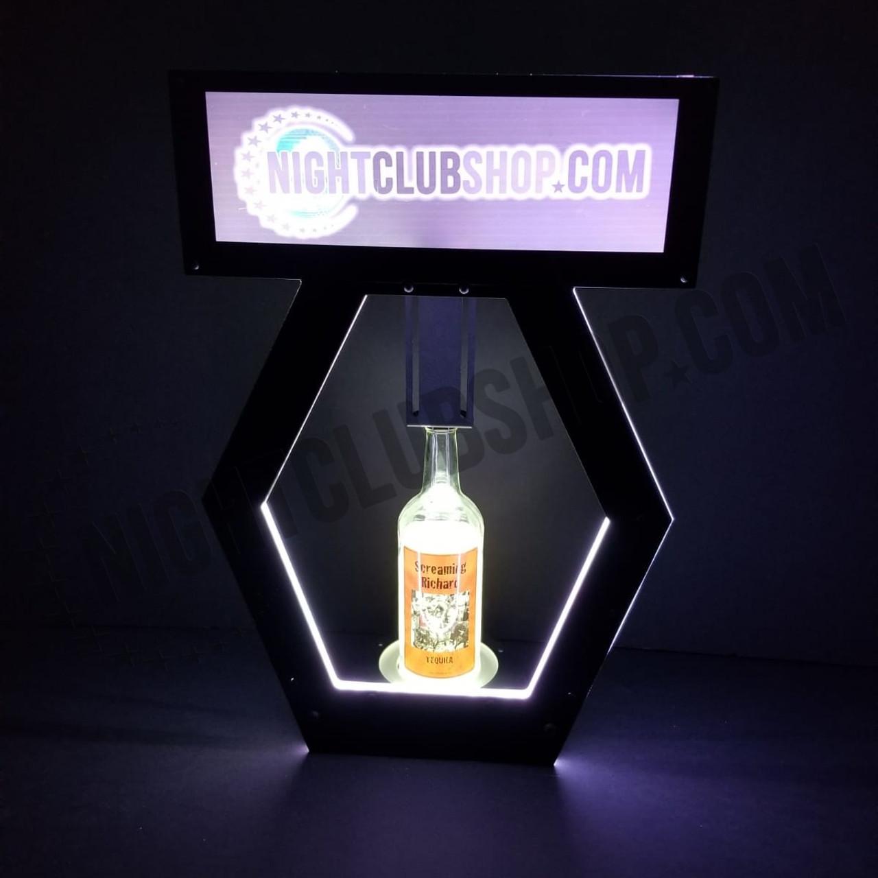 LED, VIP, Banner, Top, Custom, Print, Interchangeable, Nightclubshop, DMXR, RF, Remote, Controlled