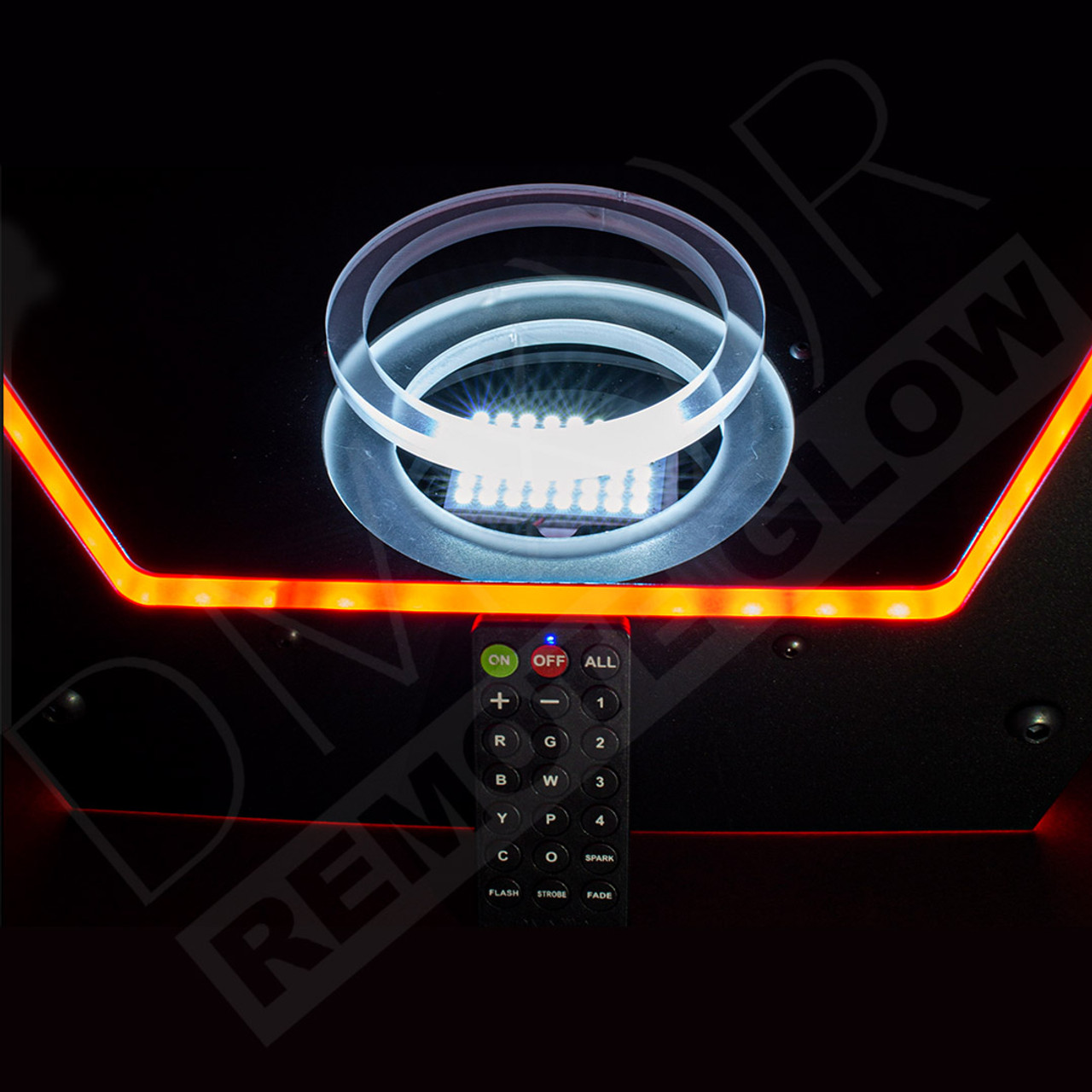 Universal, Ring, System, Nightclub, Bar, Lounge, Secure, Bottle, Caddy, remote, Controlled, DMXR, Advanced, Coded, technology