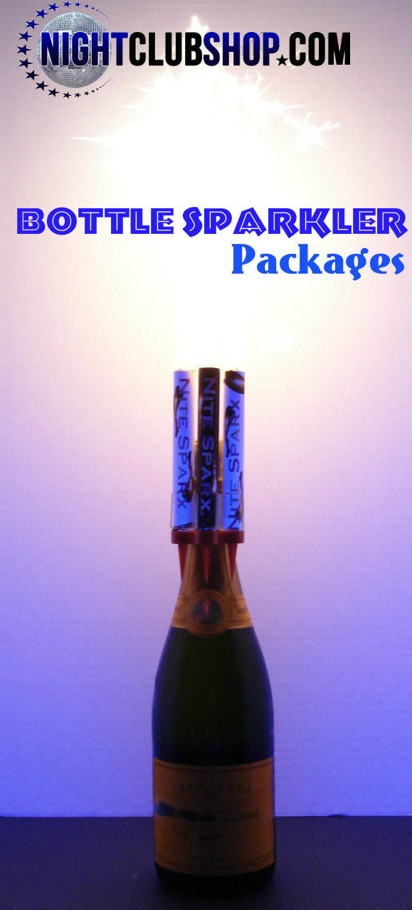 Botella Sparkler Bottle Birthday Candle Sparkle Cake Wholesale Bulk Champagne