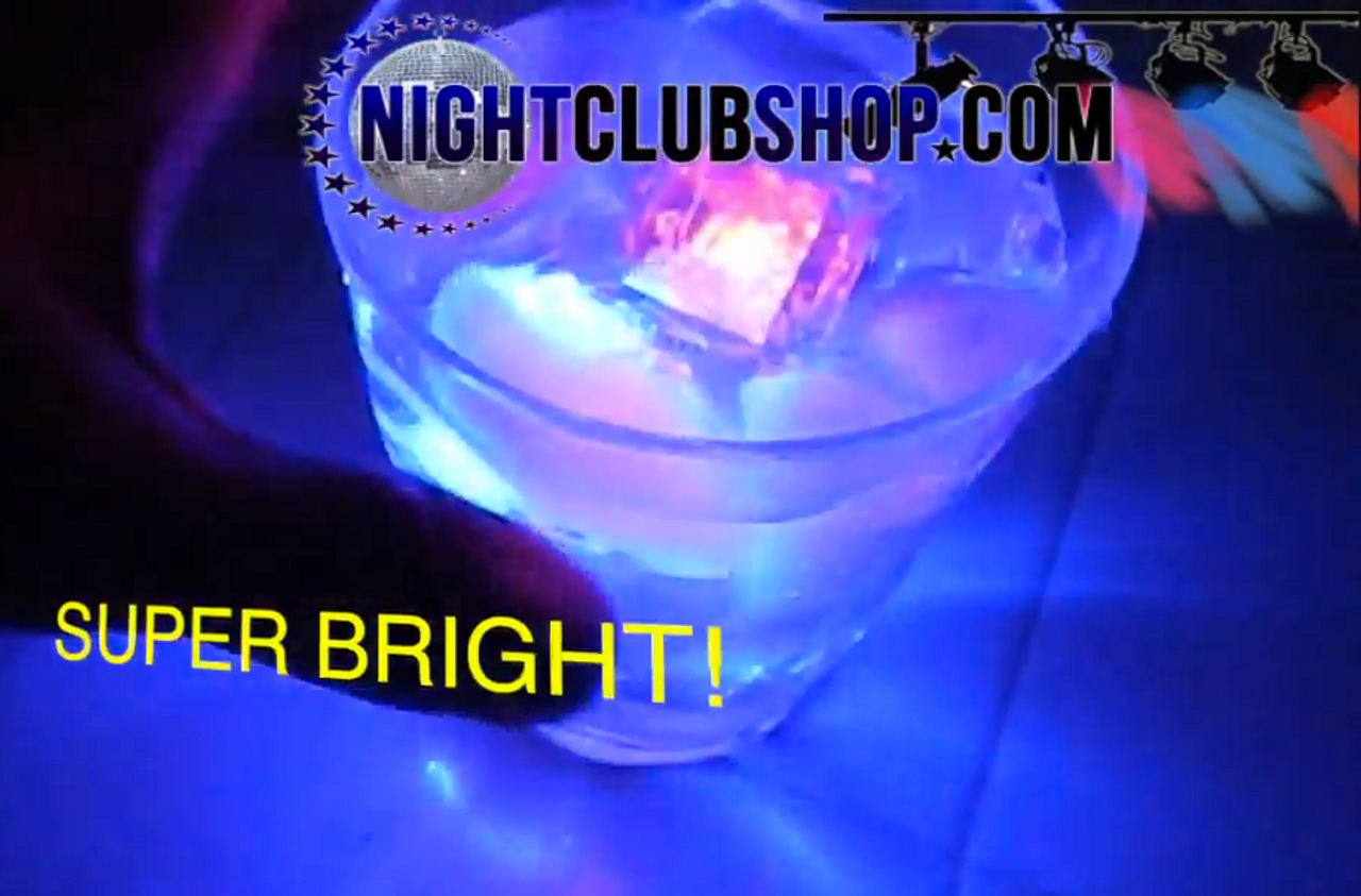 LED, water, activated, ice, glow, lights, bars, liquor, vases, wedding, rave, LED ICE, LED ICE CUBE, Water Activated Ice, Light Ice, Glow Ice, Blinking Ice, Illuminated Ice, Light up Ice, GLOW CUBES,