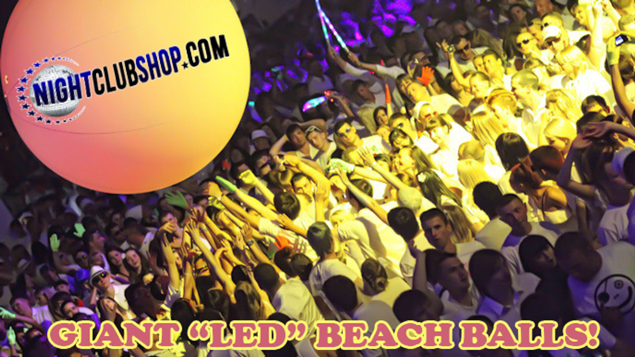 LED, Light up, illuminated, Beach,Ball, Beachball, Globo, illuminado, Bola, Playa, Glow, Neon, Party