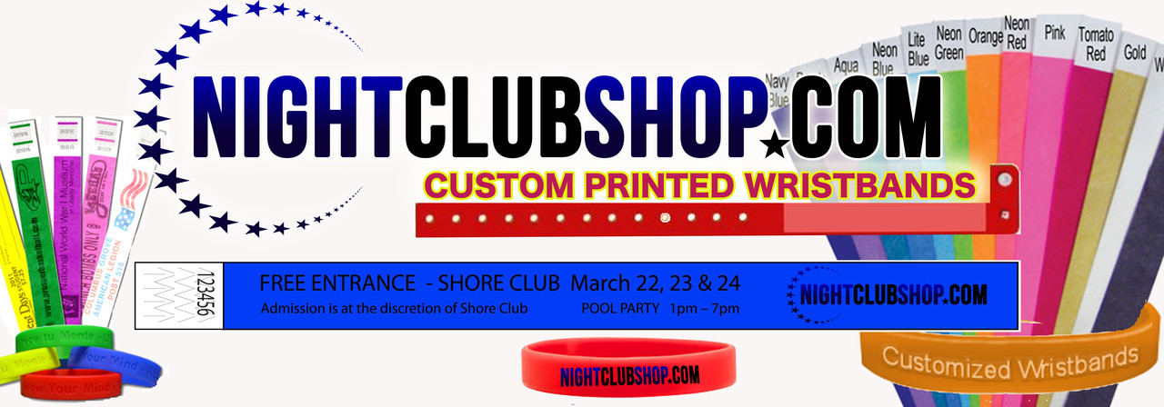 Custom, Printed, security, wristbands, with, logo, name, date, event, art, personalized, customized, bands, wrist band
