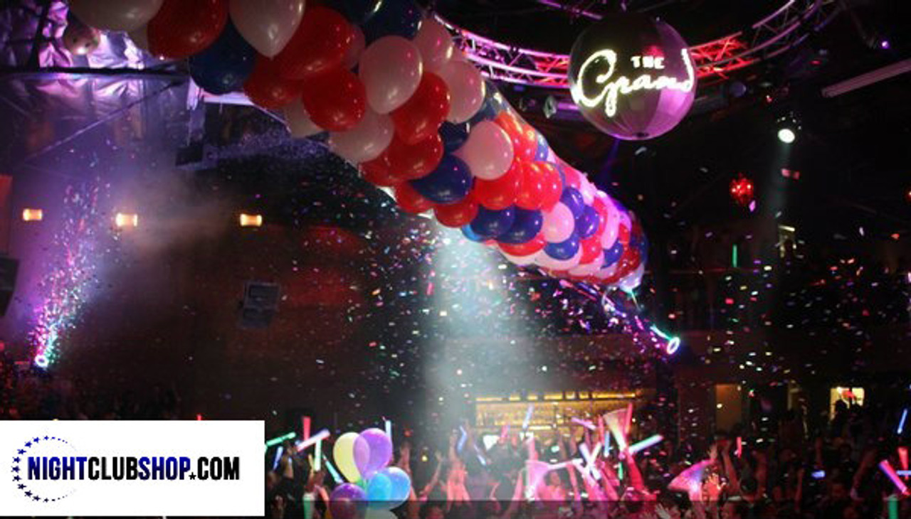Nightclub Balloon Drop