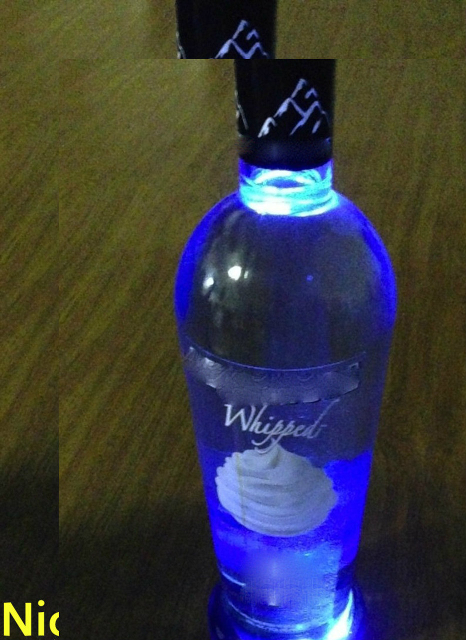 Glowing, Displayer, Liquor BottleLED BOTTLE, GLORIFIER, Bottle, Service, VIP, Glow, LED, Illuminate, Bright, Light up, Lit, Glowing, Bar, Restaurant, Glassware, accent, Bottles, Display, Glorifier, shine, Bright, Products, sparkler, service, bartender, barback, Belvedere
