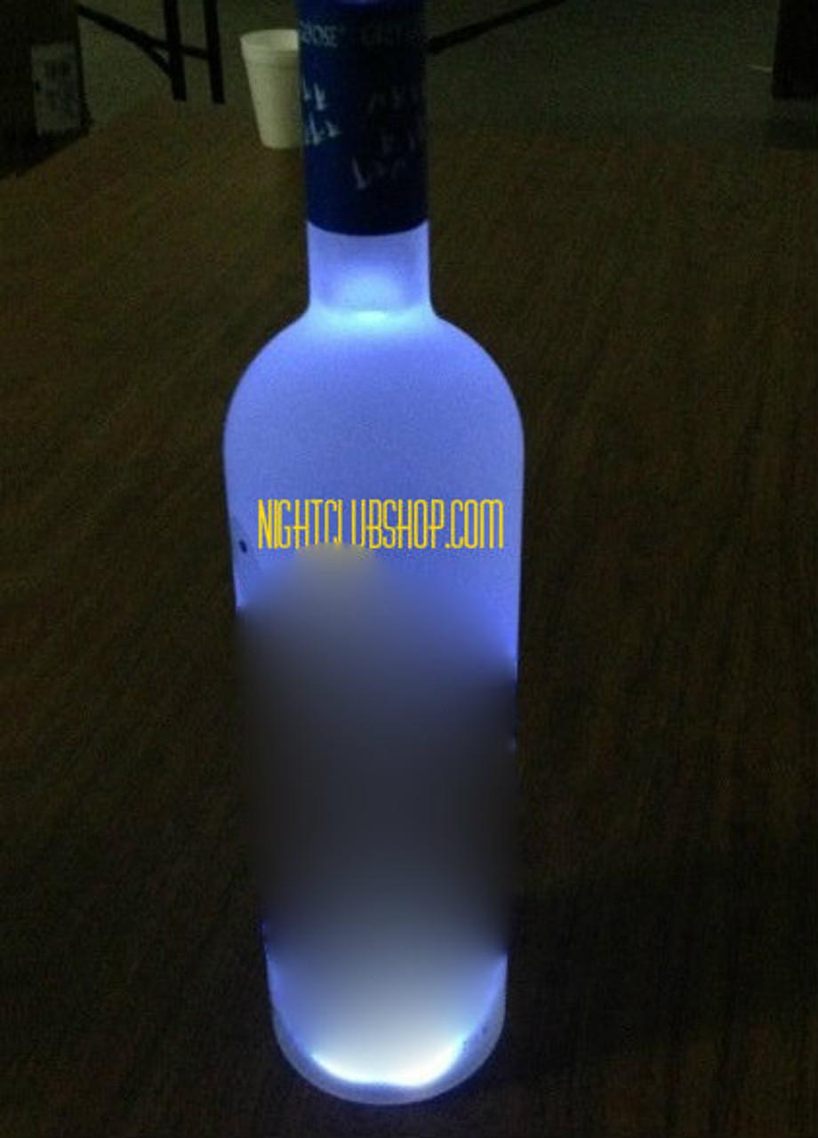 Led Mini Bottle Glow Bottle Bright Display Glorifier