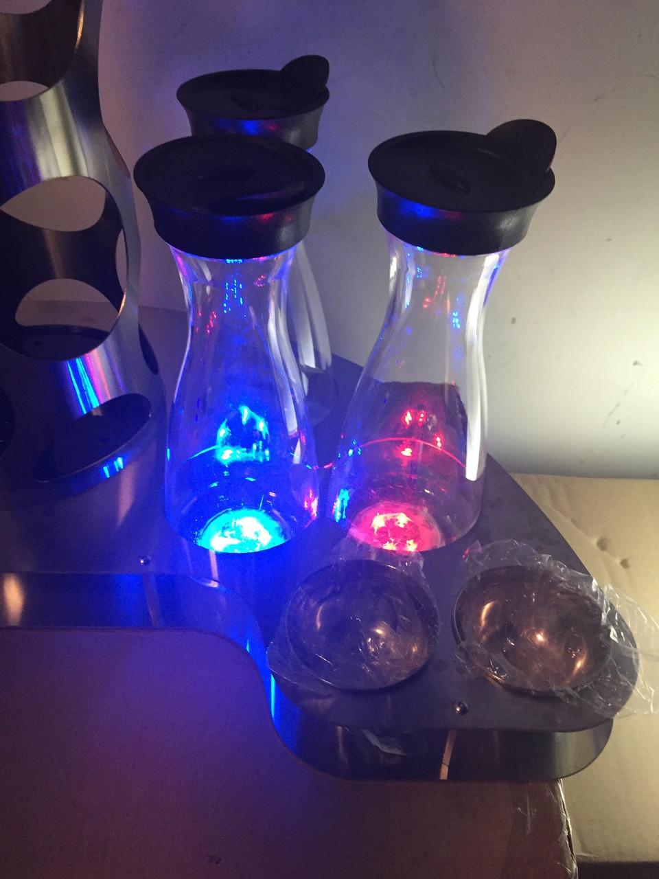 LED-Glow-illuminated-light-up-coaster-sticker-stick on-Glorifier
