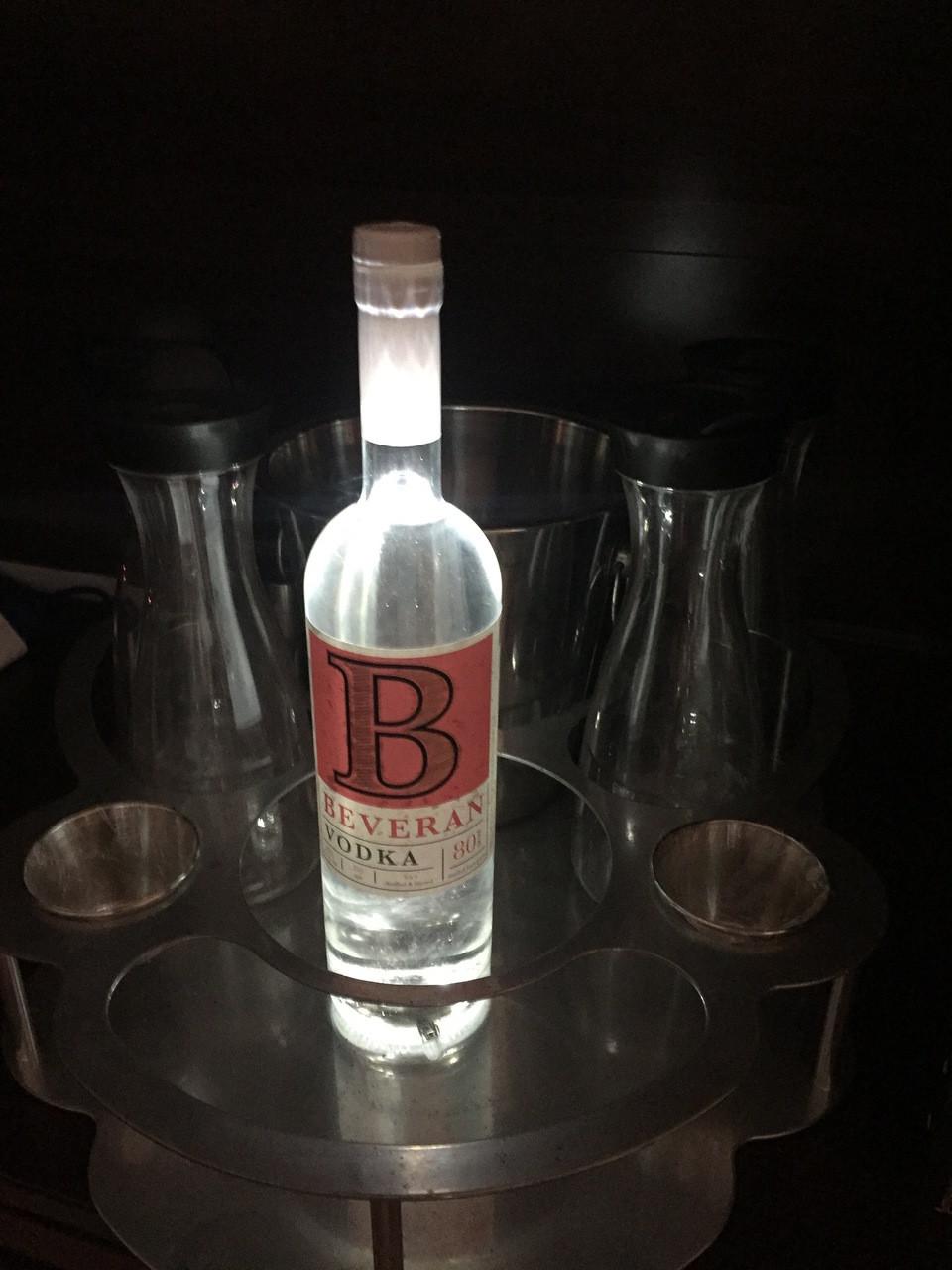 Beveran Vodka, Beveran, Vodka, Light up, Bottle, illuminated Liquor, Light up liquor, Stick on, coaster, Sticker, light,Bottle, Ciroc, Bombay, Bacardi, Vodka, Rum, liquor, Glow, Bottle, Glorifier,