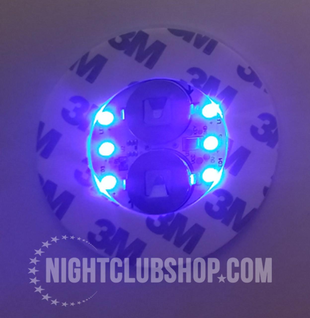 LED Bottle Glow, LED, Bottle, Bright, Light, illuminate, Glorifier, make bottle, light up, glowing, liquor, Belvedere,Blue,Blue LED, Blue Glow