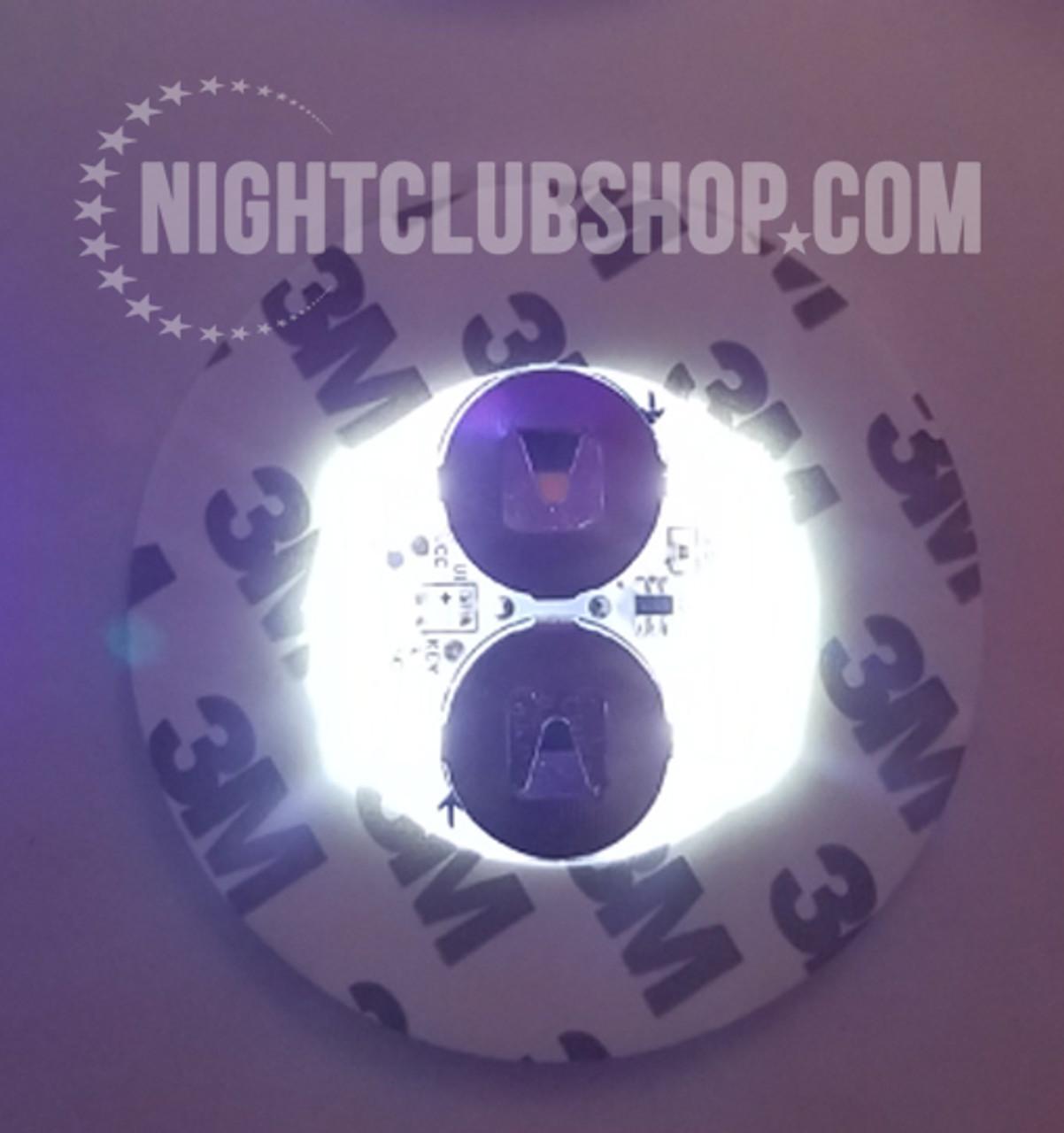 LED Bottle Glow, LED, Bottle, Bright, Light, illuminate, Glorifier, make bottle, light up, glowing, liquor, Belvedere,White, White LED, White Glow, Illiminated