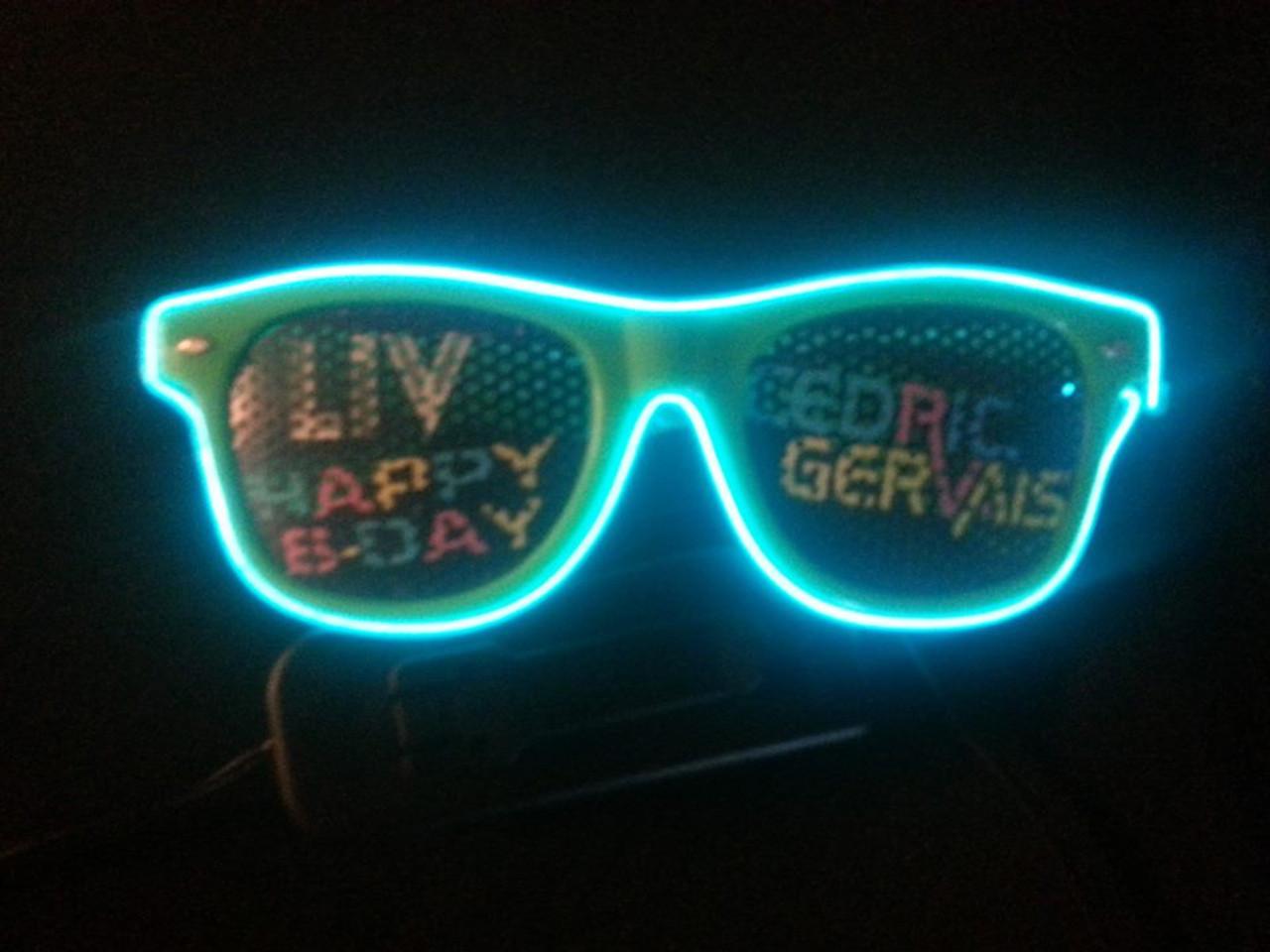 Led, Glasses, Sun Glasses, EDM wear, EDM, Electro, Sunglasses, Party, Nightclub, Custom, Glow, lenses, light up, lit, liv, lightuo