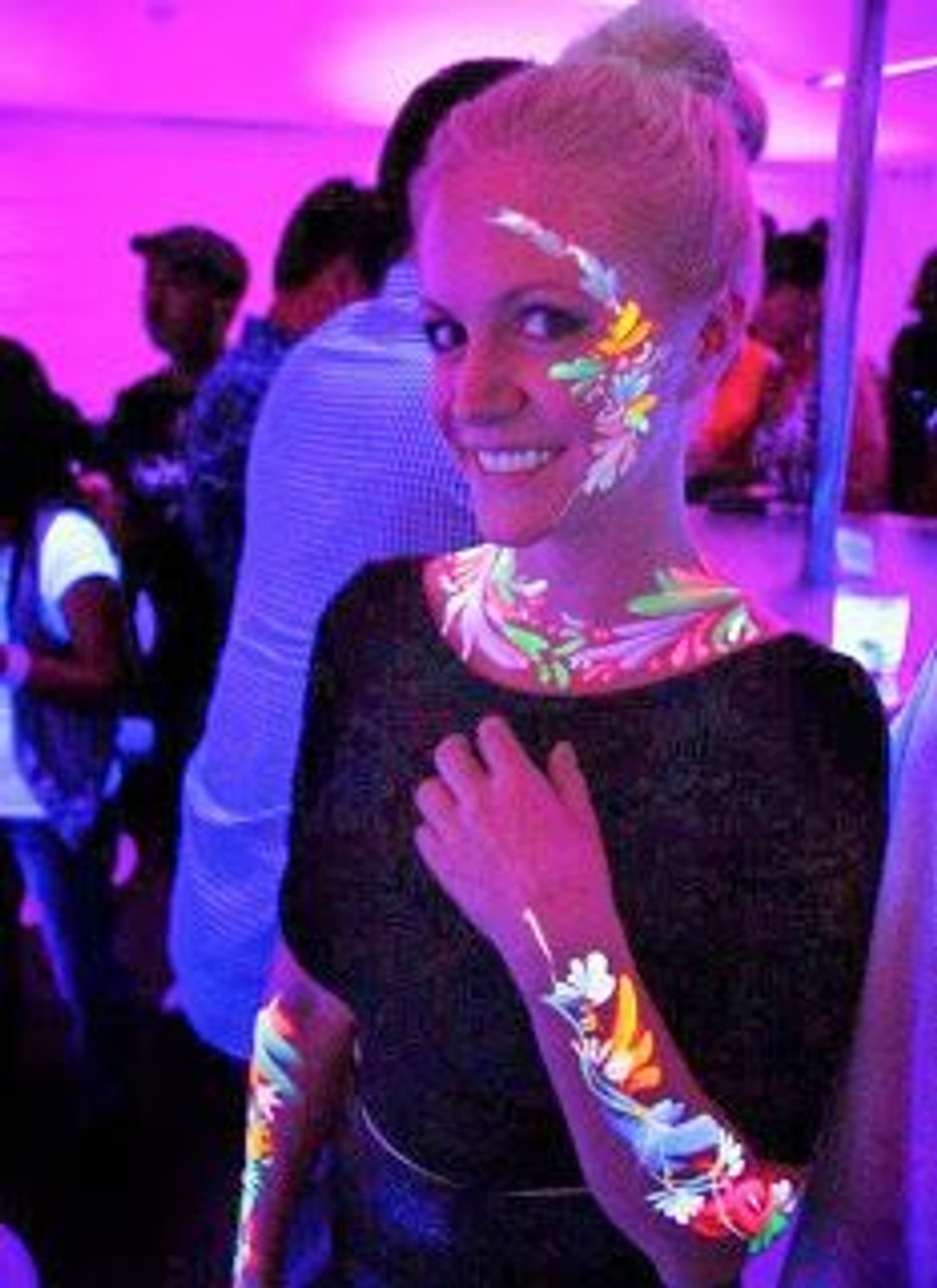 UV, Blacklight,Body,Paint,GLOW,UV,Blacklight