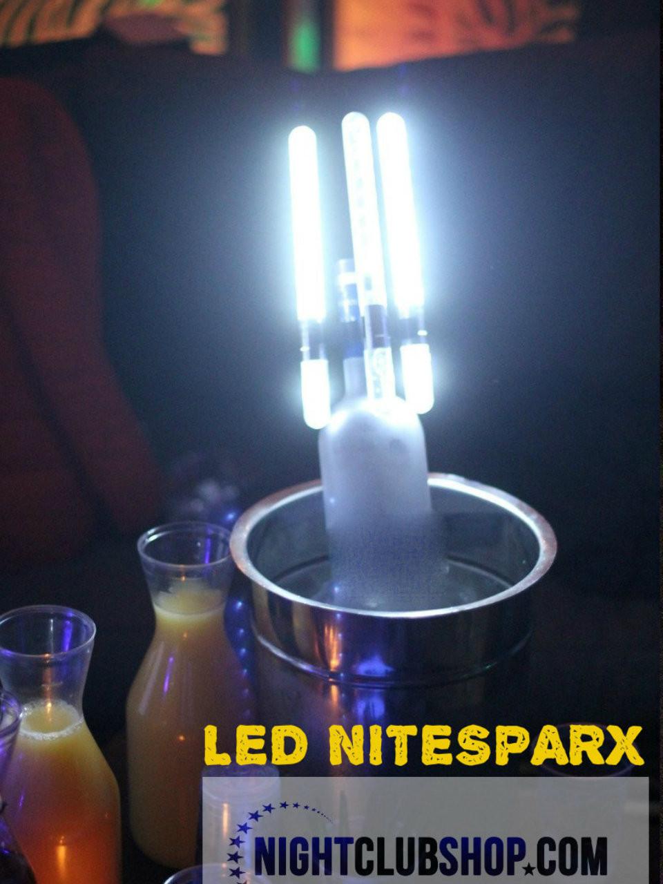 LED, Nitesparx, Nite sparx, Electronic, champagne, Bottle, Sparklers