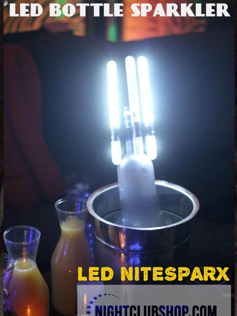 LED Bottle Sparkler, LED, Bottle Sparkler, Bottle, Sparkler, Electric champagne bottle sparkler LED, alternative, Champagne Sparkler, Bottle Sparkler, LED Spark