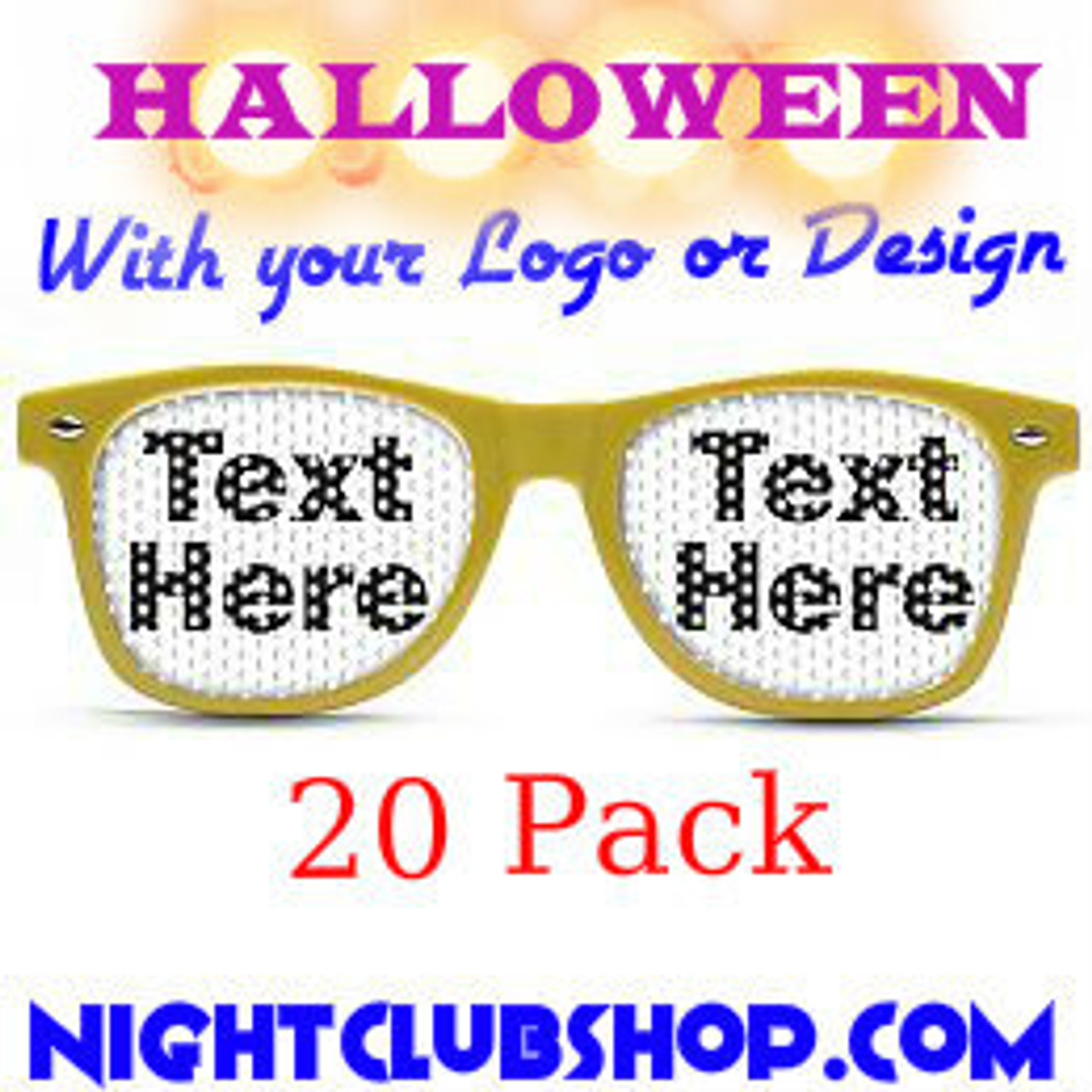 HALLOWEEN PARTY, HALLOWEEN GLASSES, HALLOWEEN SUN GLASSES, HALLOWEEN, SUN GLASSES, SUNGLASSES, CUSTOM, PRINTED, PERSONALIZED, PARTY, NIGHTCLUB, SPECIAL, PRINTED, PROMO SHADES