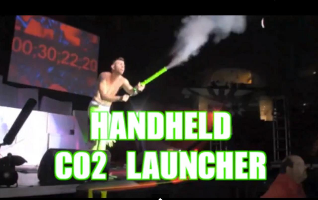 Confetti, Flo-Fetti, Flu-Fetti, Streamer, Handheld, Cannon, CO2, Blaster, Launcher