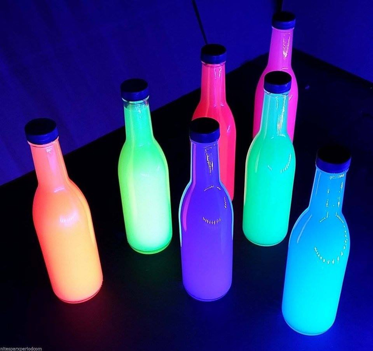 GLOW PAINT, UV, reactive,Glow, Paint, ounce, body paint, glow effect, pintura, Ultra Violet, Black light, blacklight, Paint, Run, Party