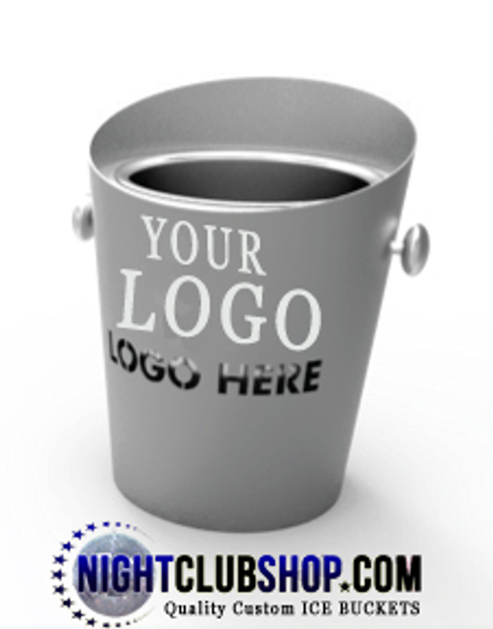 laser cut, logo, brand, led, ice, bucket, ice bucket, icebucket, champagne,bottle service, VIP Bucket, Custom,