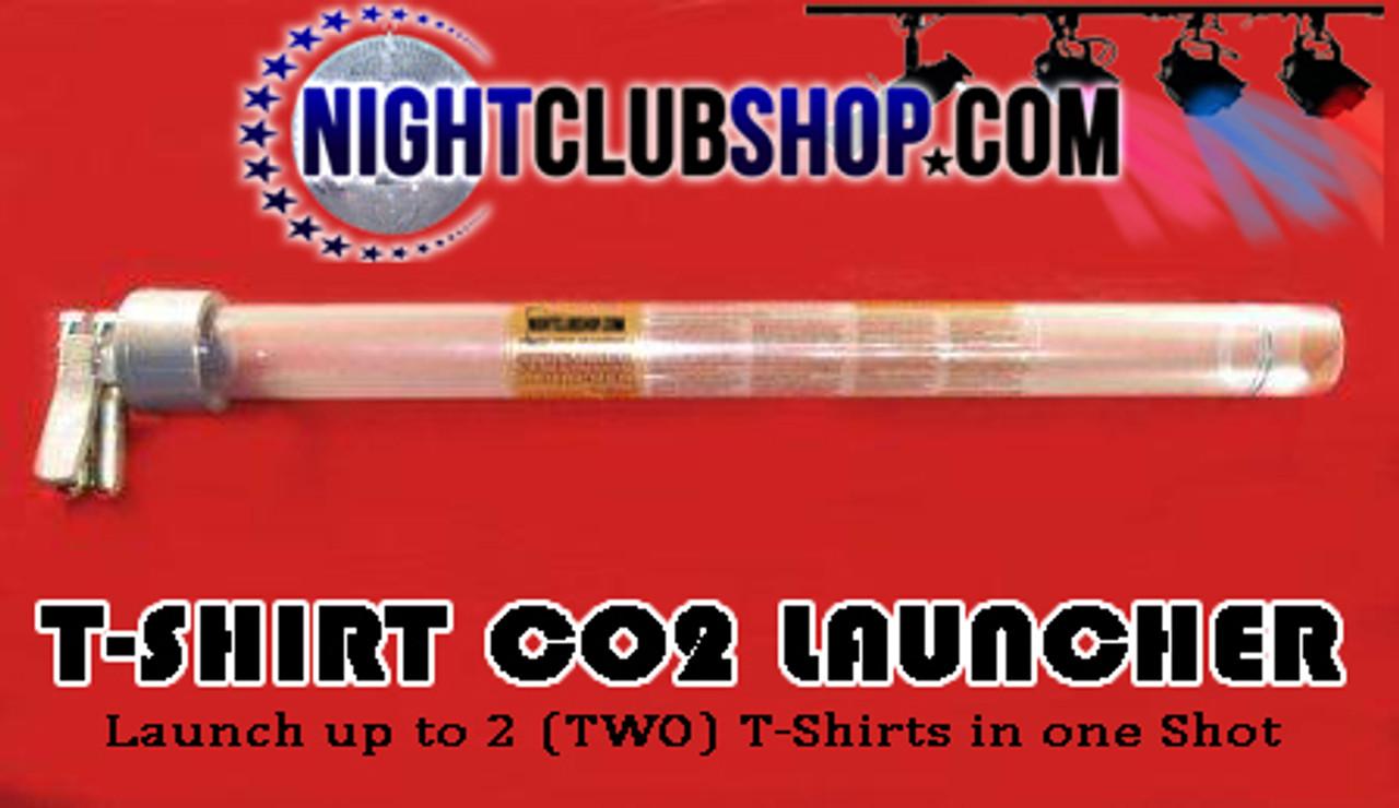 T-Shirt Launcher, TShirt Launcher, T Shirt Launcher, T shirt, Launcher, cannon Shoot crowd, stage, multiple, 2 shirts