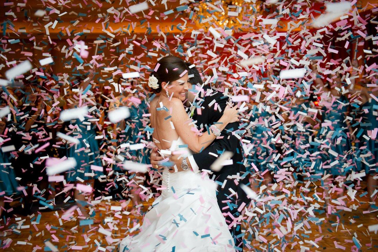 Ultimate, portable, resonably priced, wedding, confetti, cannon, launcher, bride, groom, Gala, reception, celebration, SEI, Confetti streamer, gun