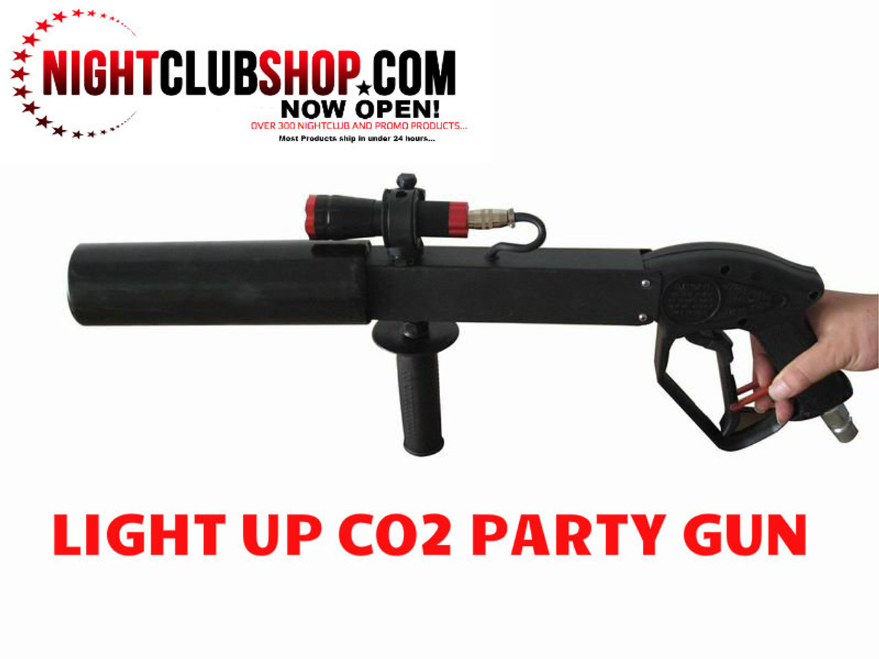 co2 cannon, co2 gun,gun,cryo, blaster, party cannon, co2 cannon, co2 effect, effects, special effects, light up co2 gun, light,