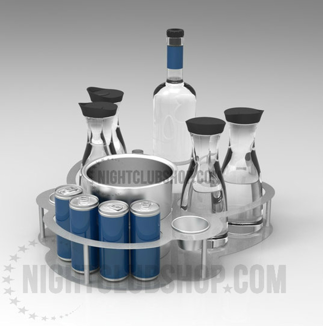 CHAMPAGNE, Ice Bucket, Service, Serving, Tray, Custom, Energy Drink