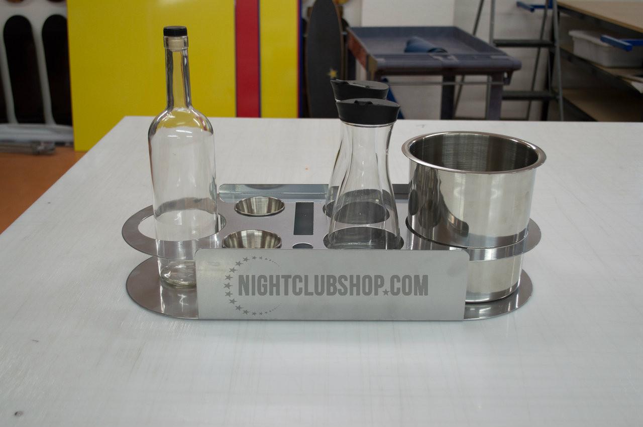 VIP Tray, Service tray, bottle Service Tray, Custom Bottle Service Tray, Tray, Bottle