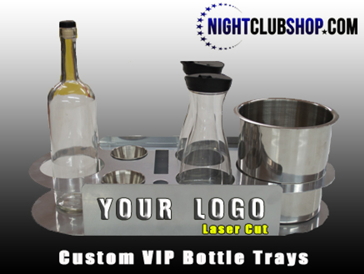 branded, Custom, tray, champagne, Bottle Service, Serving Tray, VIP, tray, bottle