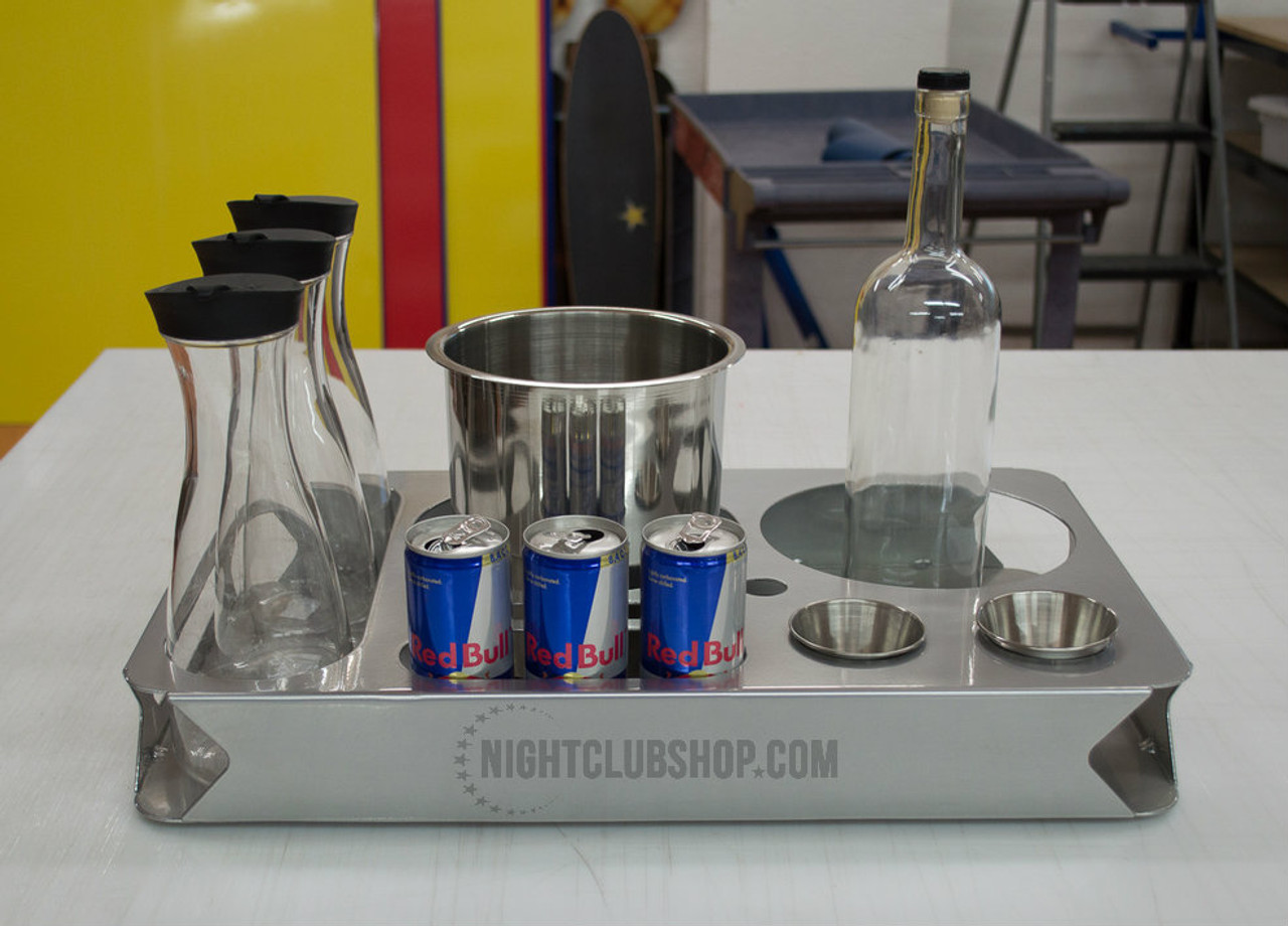 Bottle Service tray, Bottle Tray, champagne Tray