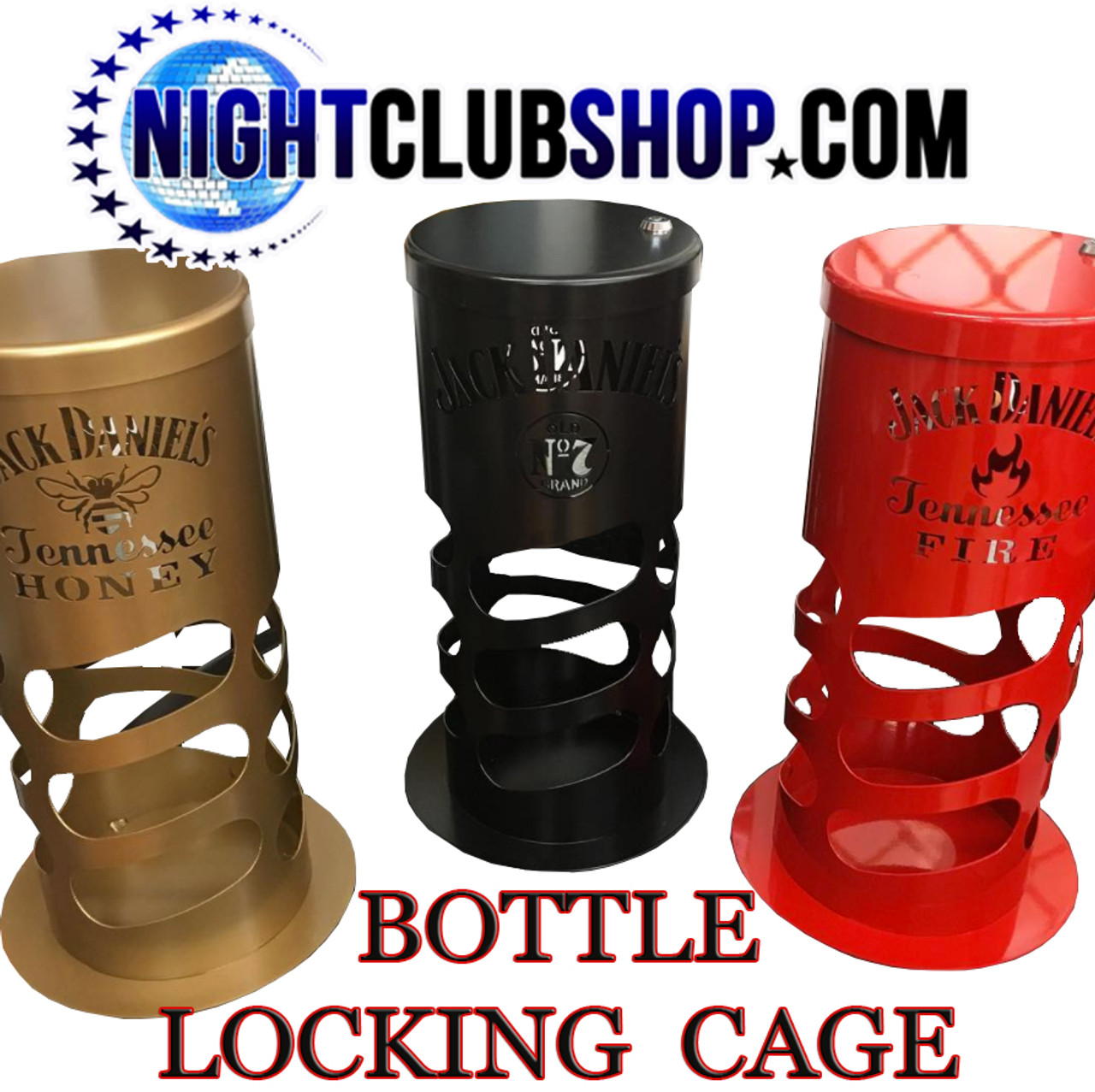 custom colors-Bottle,Lock,cage, Liquor,Locking,Security,cages,drink,champagne,VIP, Table,Steel,metal,container,holder,Lock box, custom,Nightclub,bar