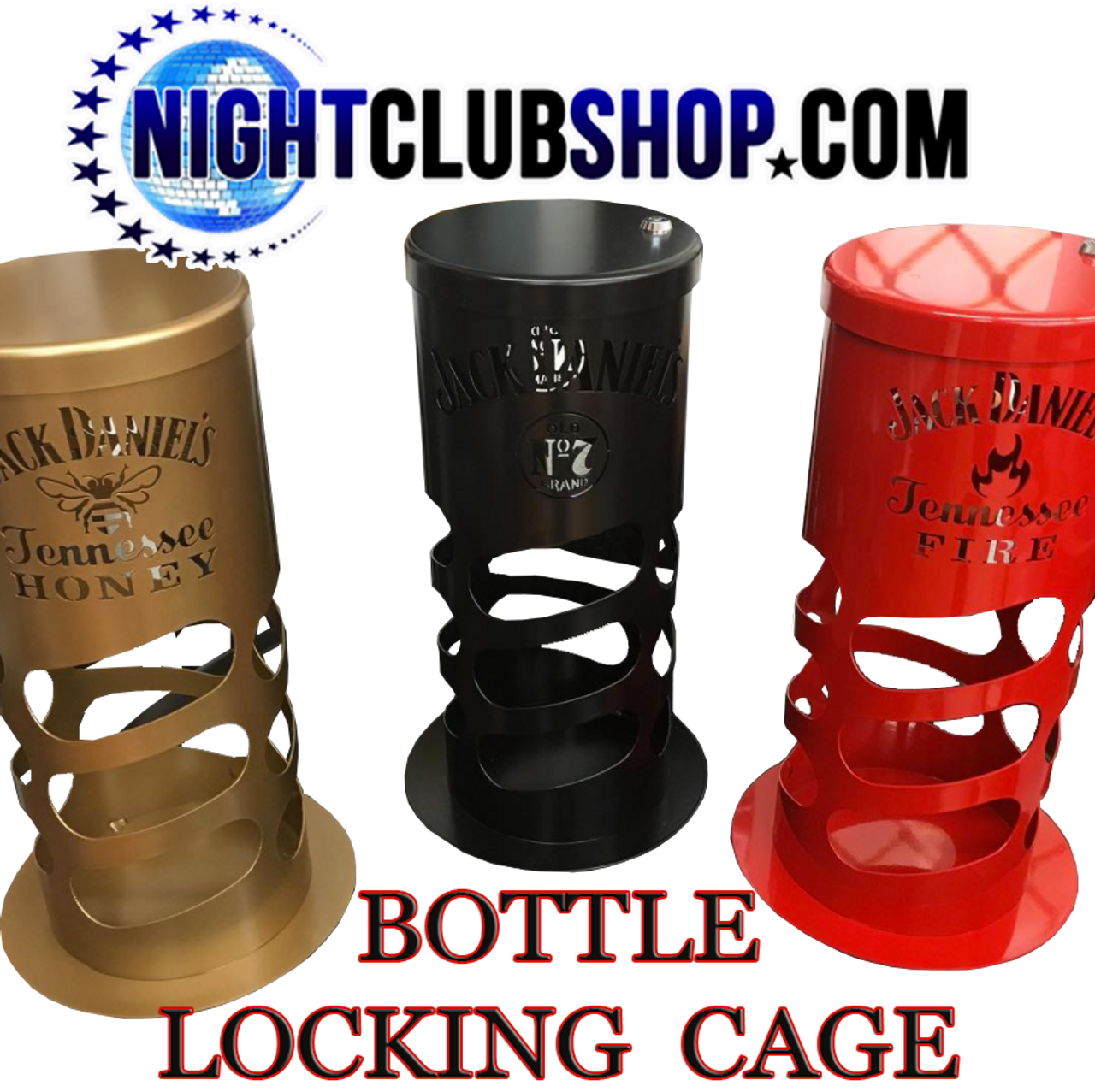 Nightclub_lounge_bar_event_locking_Liquor_cage_Lock_box_key_bottle_service_delivery_security_locking cage_Bottle Cage