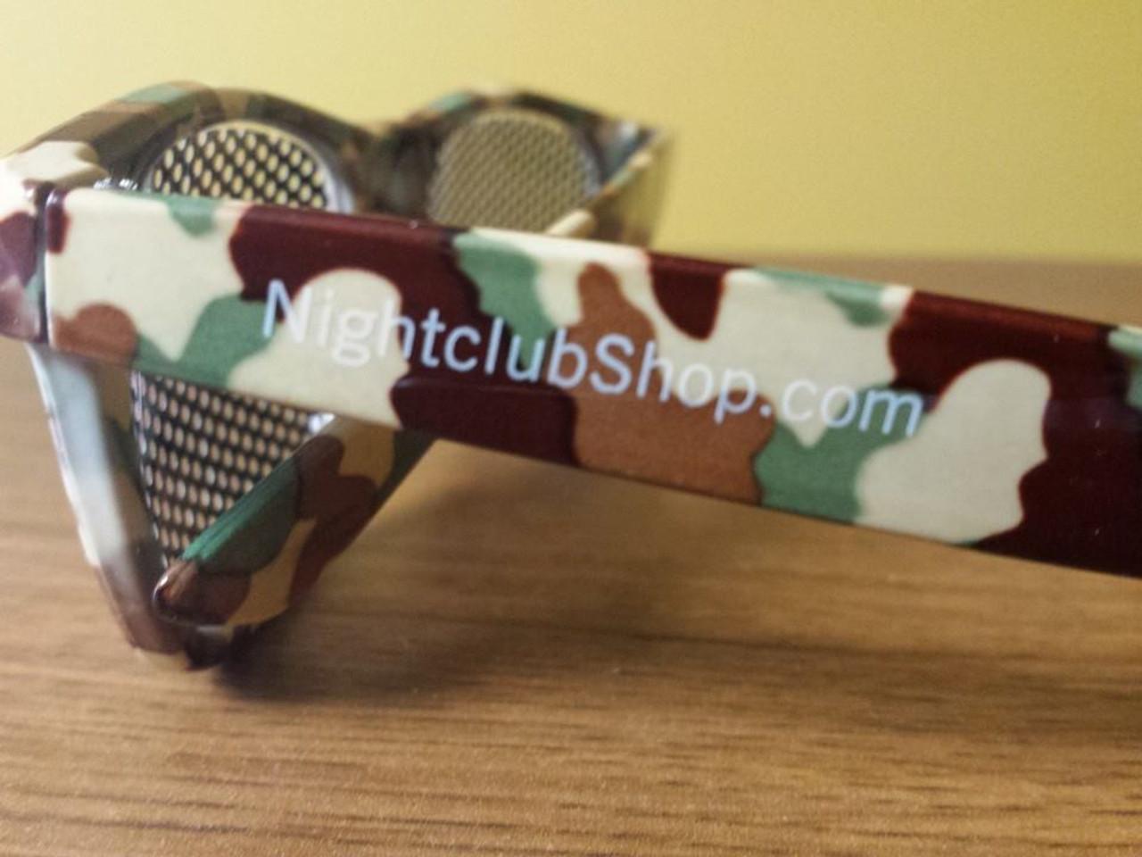 camo, camouflage, printed, promo, glasses