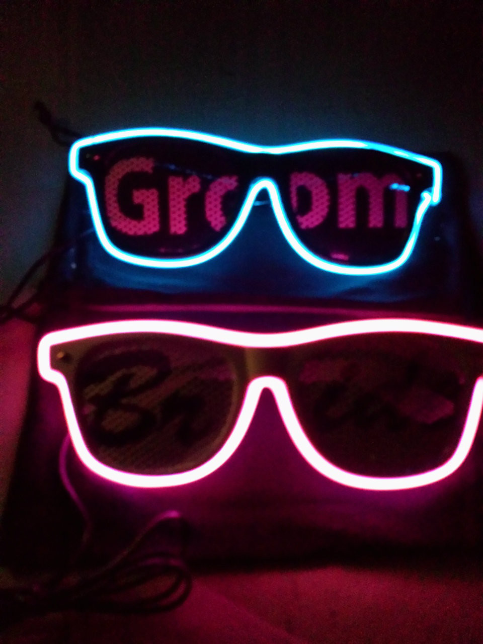Wedding Light up shades