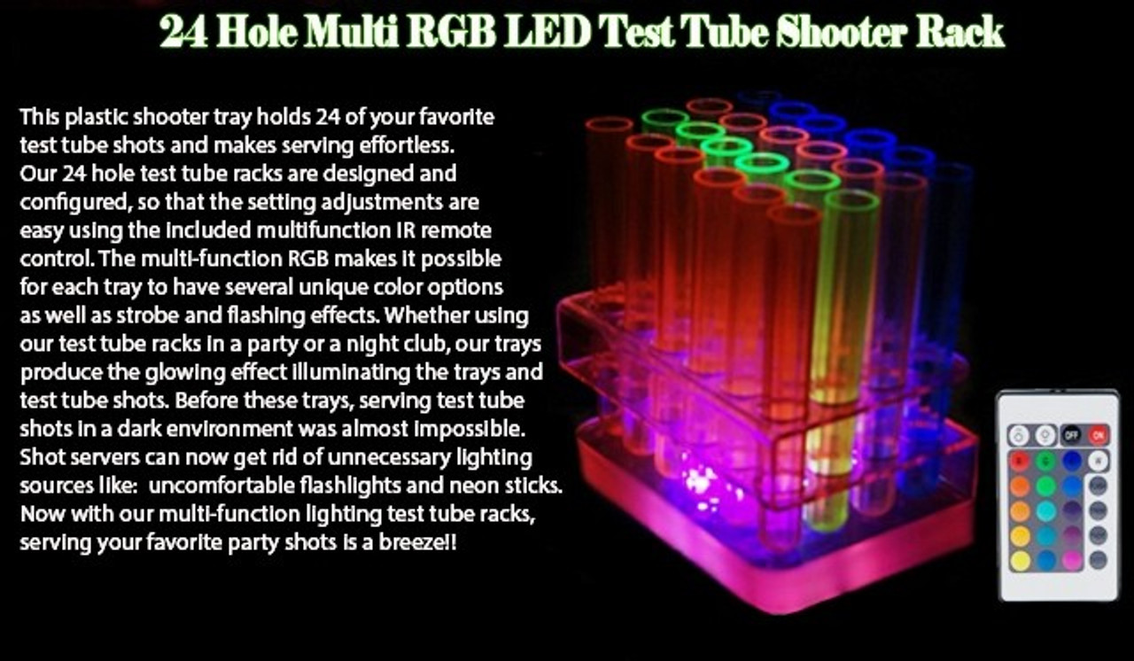 RGB, hooter,test,tube,shot,tray