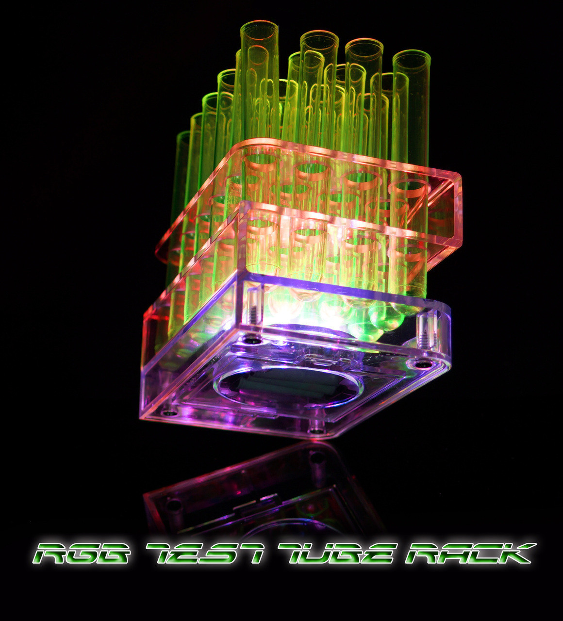 multi-color-light up-illuminated,remote,tray, test tube, shot, shot tray