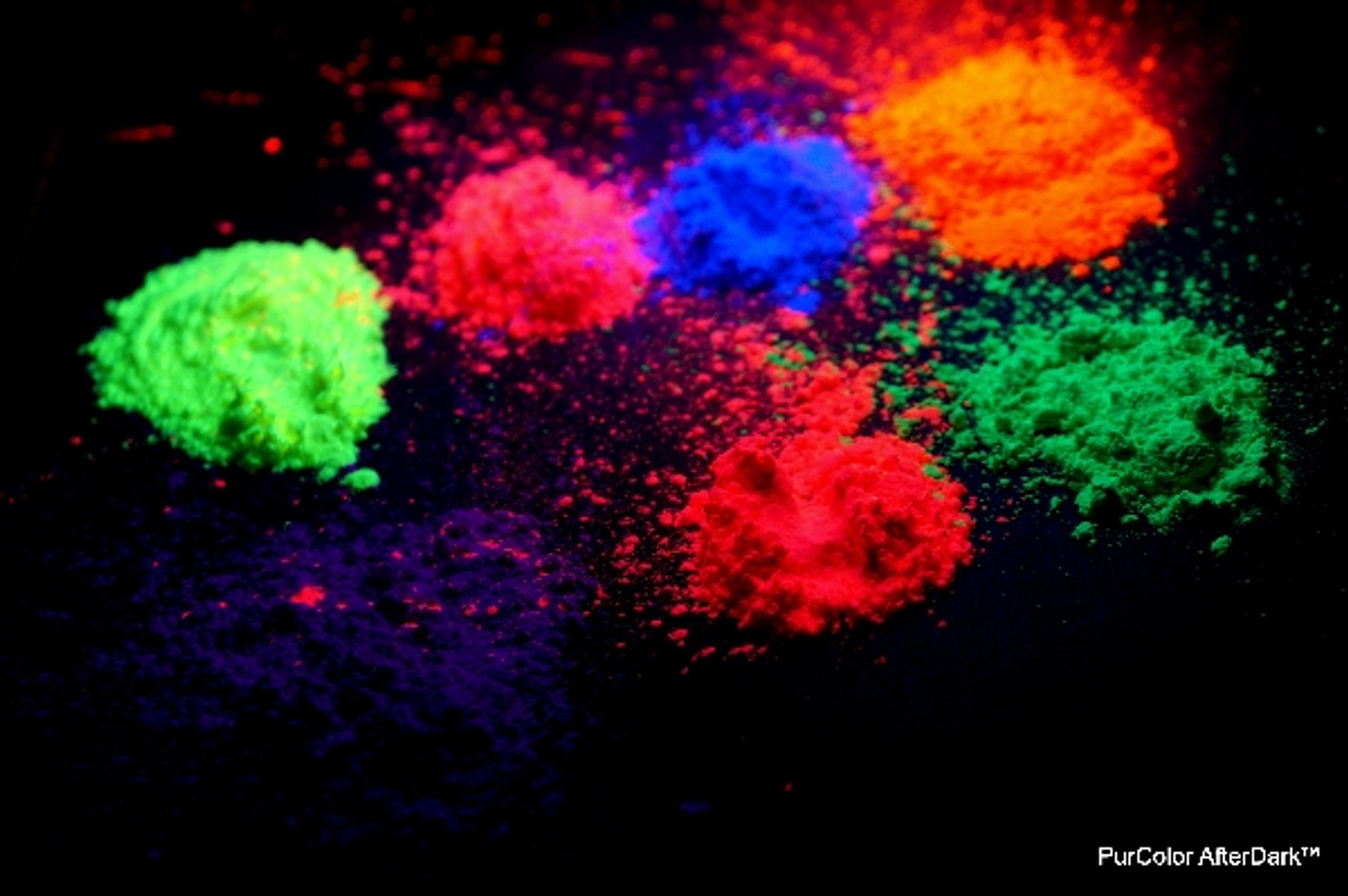 Party, Powder, Glow, UV, Mixed,color, powder