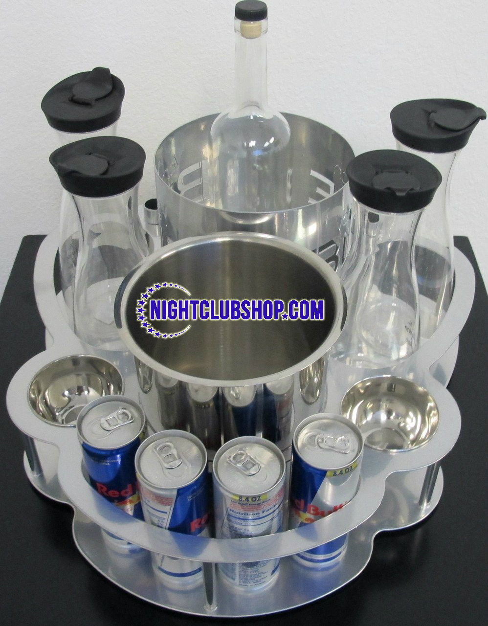 Champagne, Bottle, service, Tray, custom