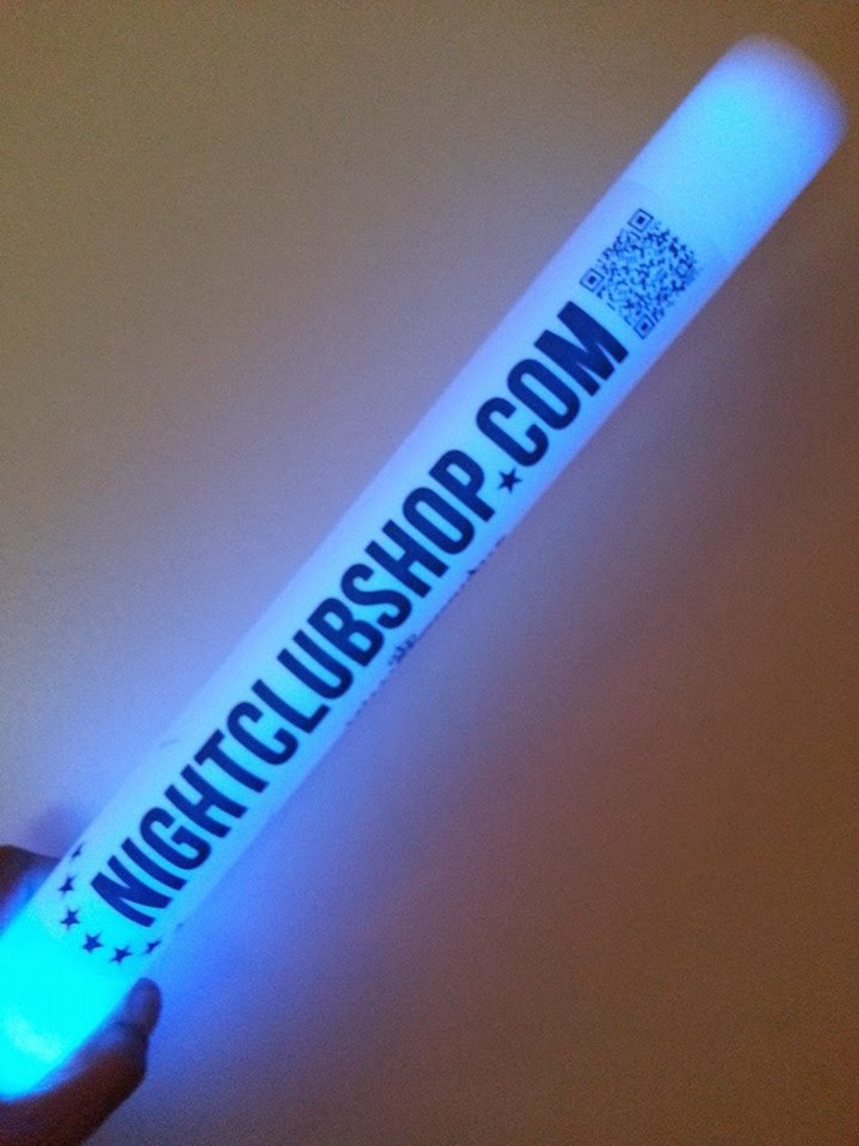 16 inch, foamstick, foam, stick, led, baton, strobe, color, party, custom, event, venue, nightclub, supplier, edm, festival, rave, supplies, club, bar, glow, personalized, bulk