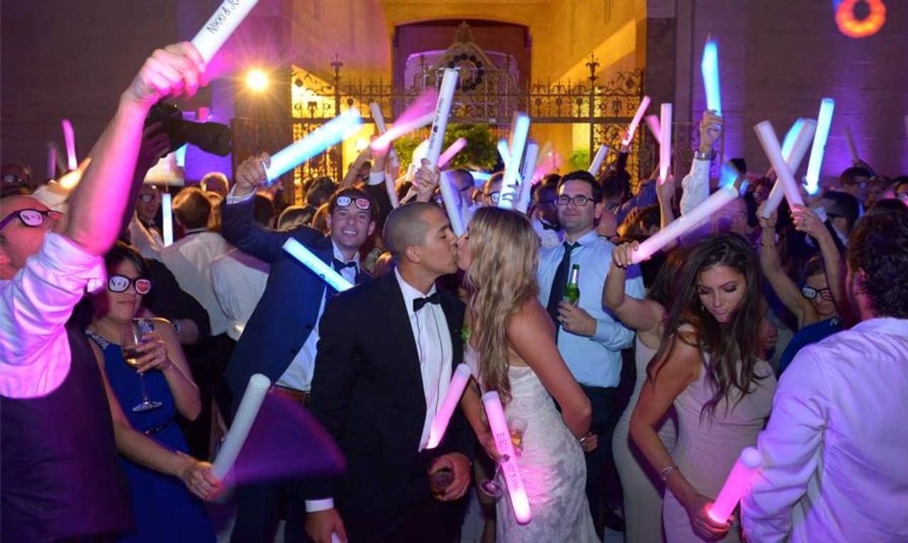 EDM, DANCING, EVENT, FESTIVAL, BIG, GLOWSTIX, GLOW, STICKS, FOAM, BATON, wedding,