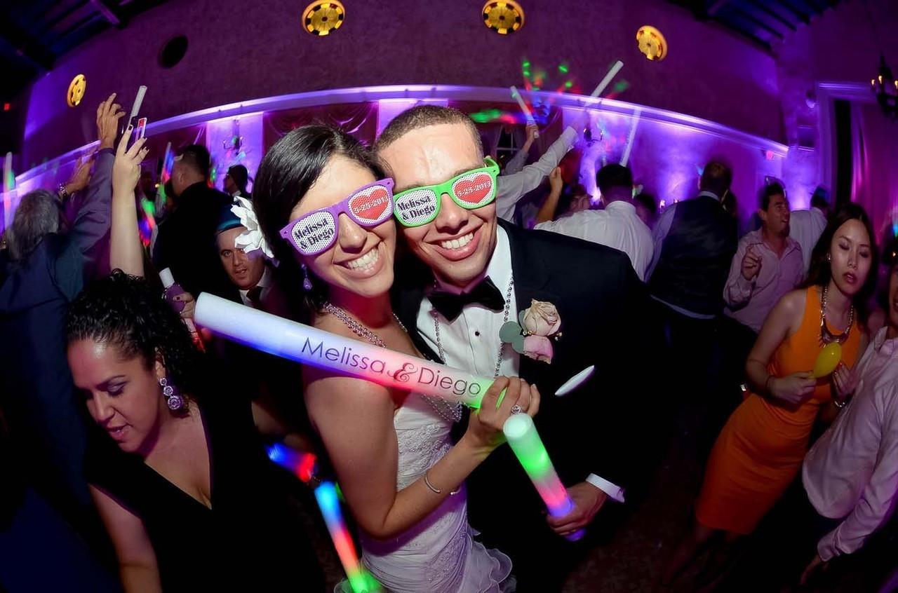 Wedding Custom Led Foam Sticks 16 Inch High Quality 7