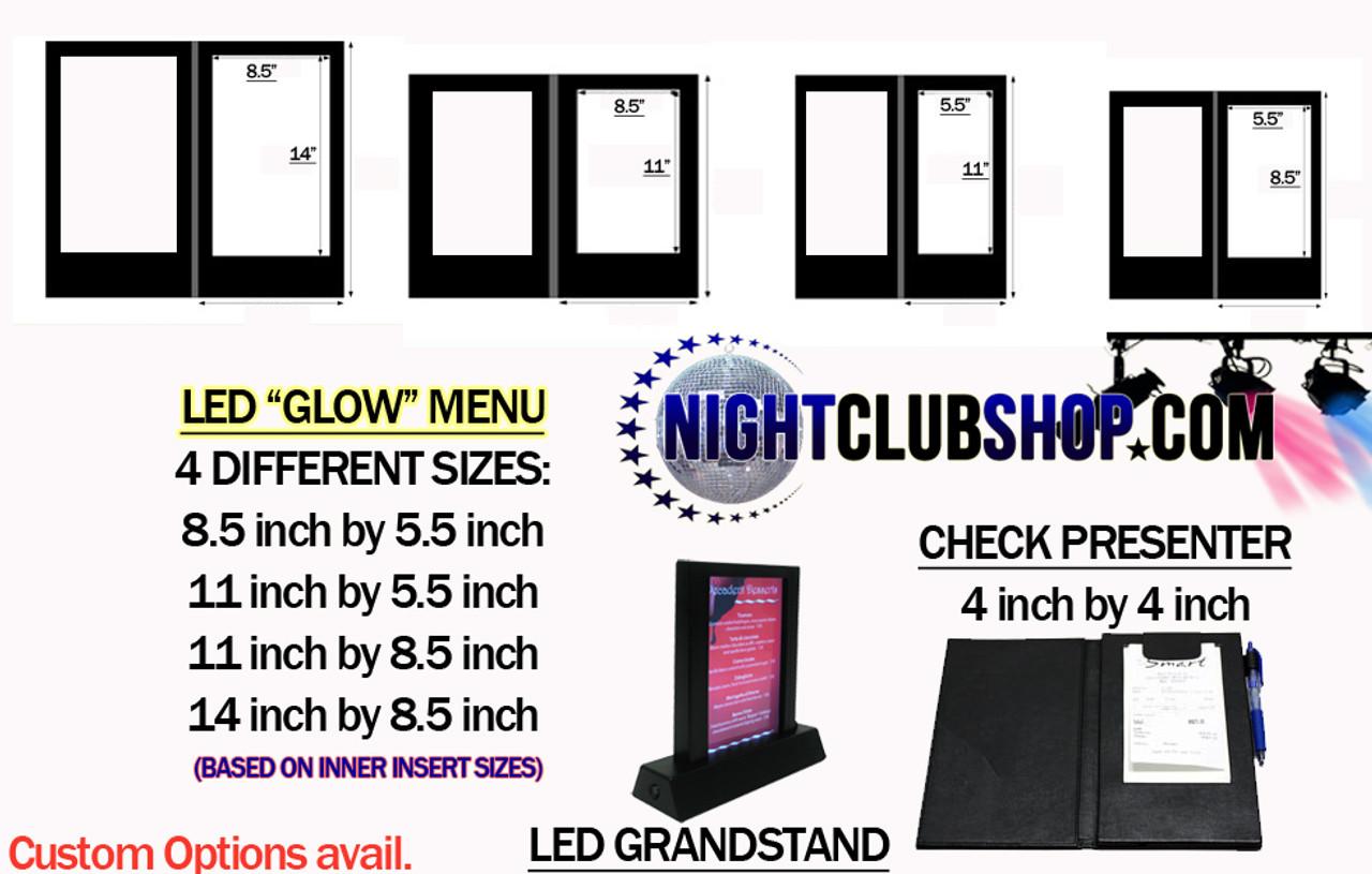 LED, Menu, light up, backlit, glow, illuminated, glowing, LED MENU