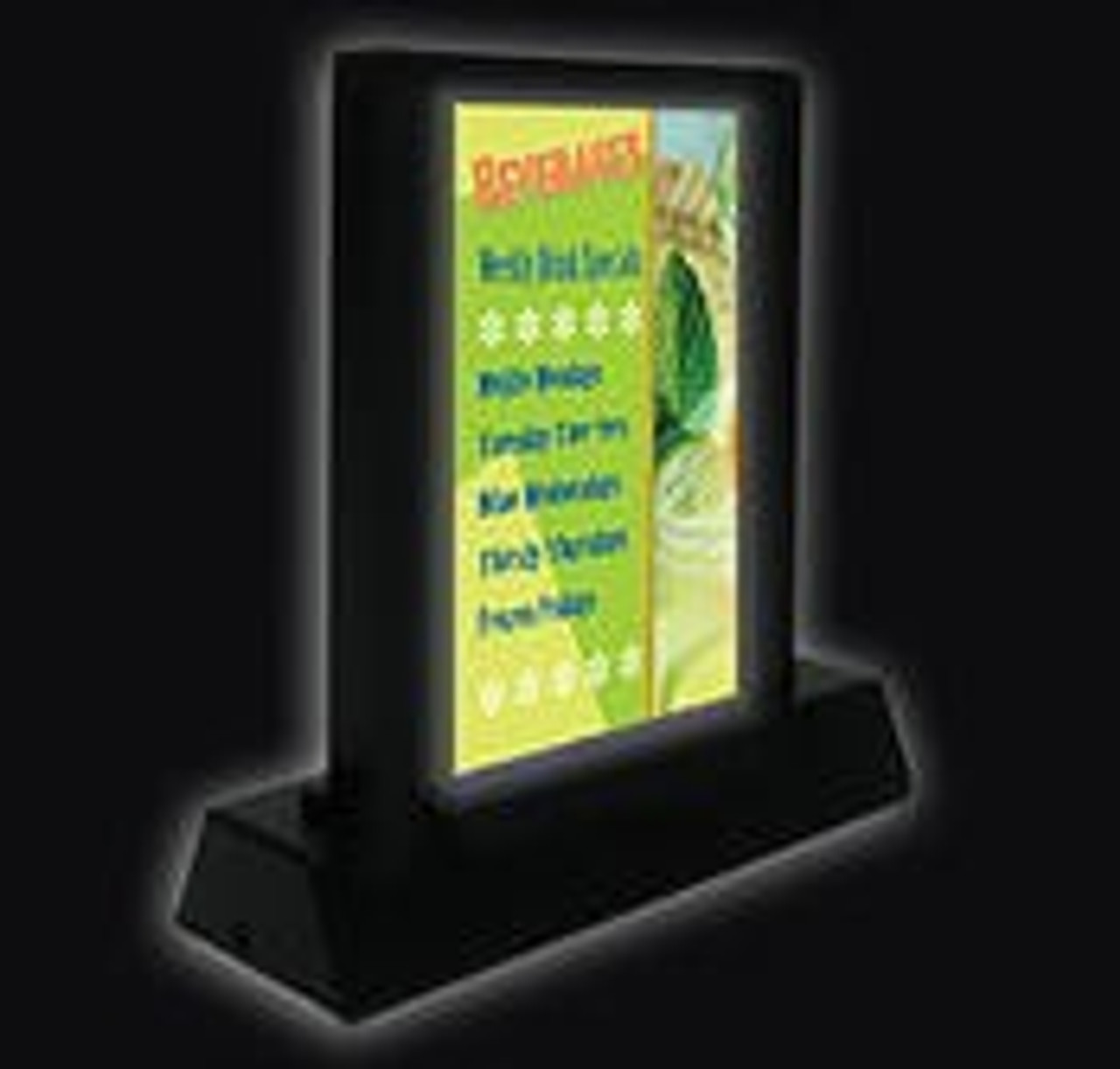 LED GRANDSTAND - LED TABLE TOP STAND - 2 LED COLOR (CALL)